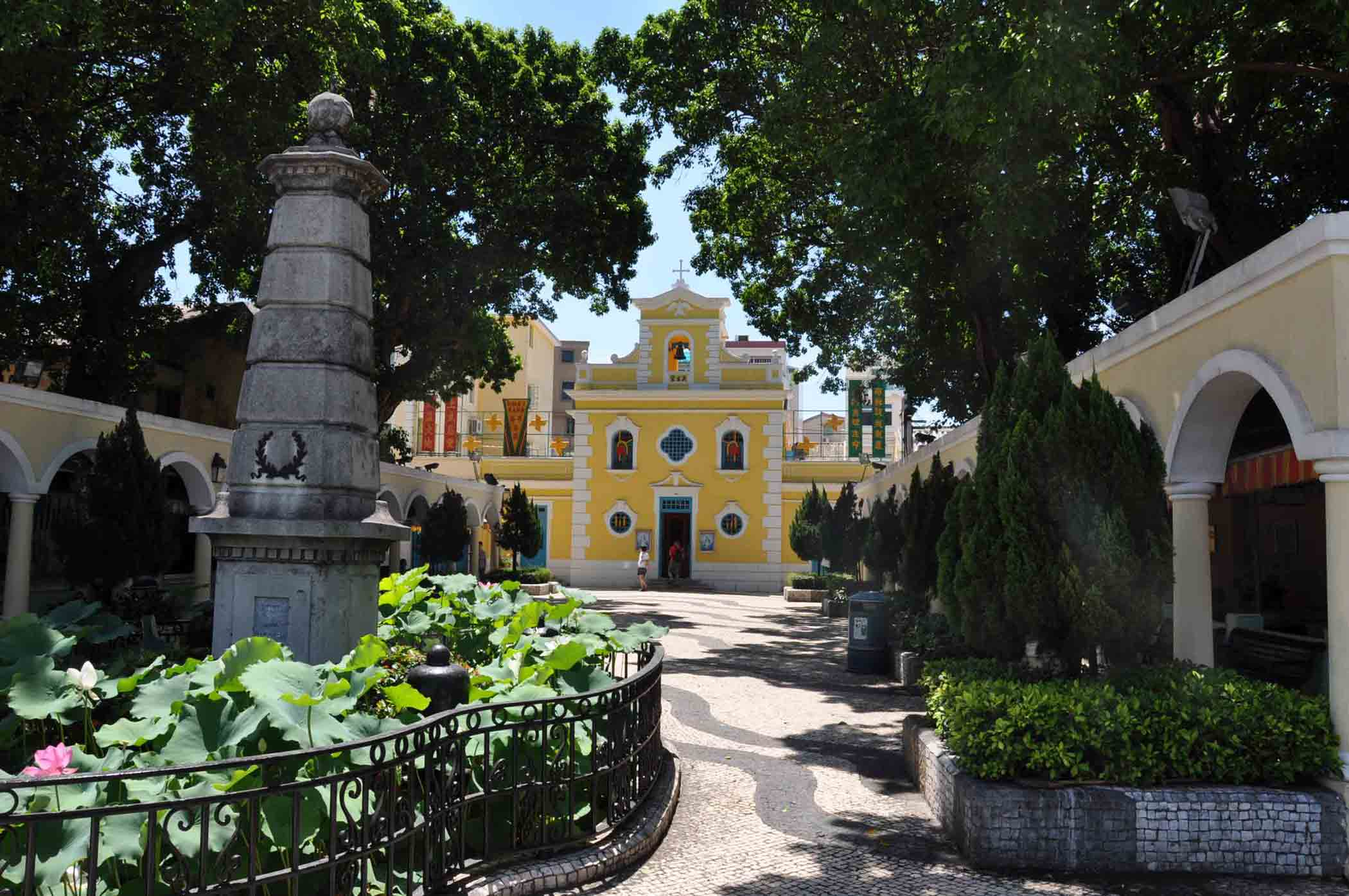 Coloane churches: Chapel of St. Francis of Xavier