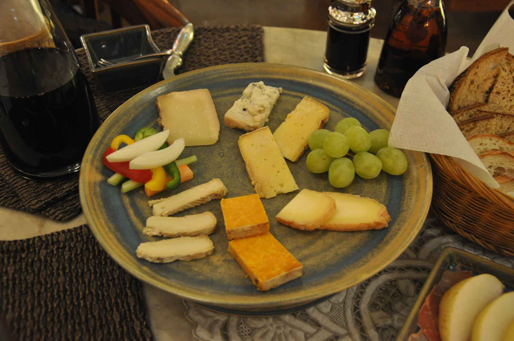 Macau Soul cheese board