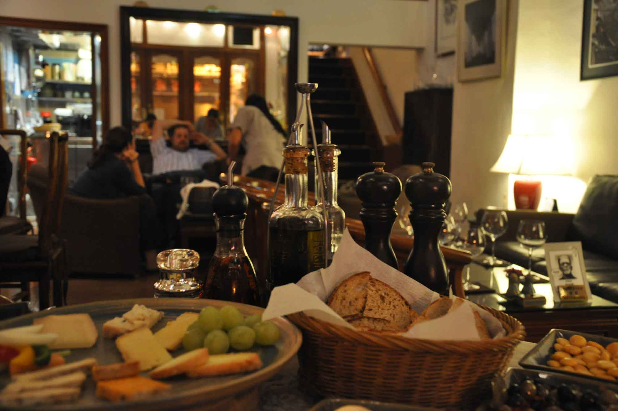 Macau Soul cheese board and warm interior
