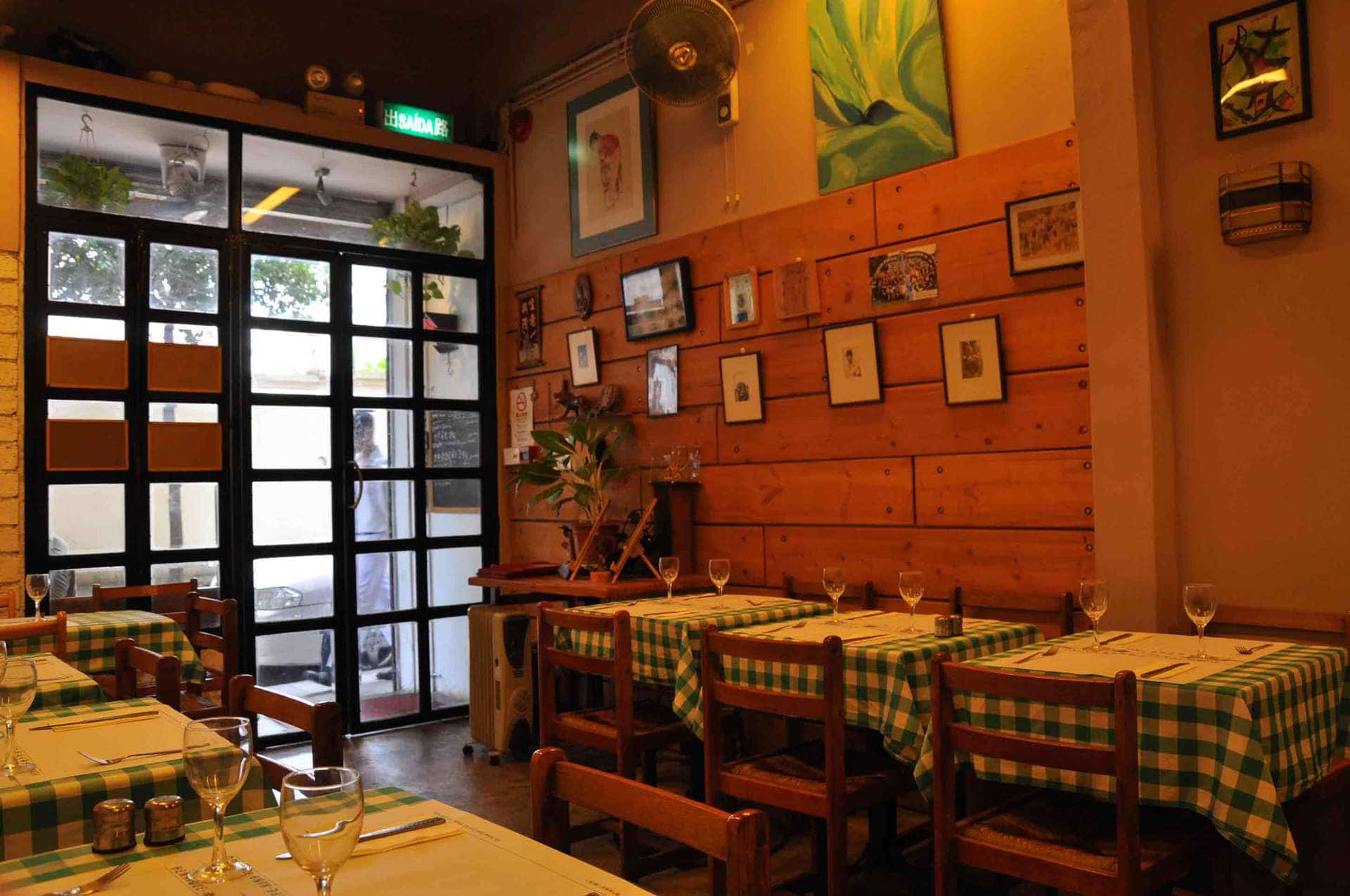 Cafe Xina Macau door