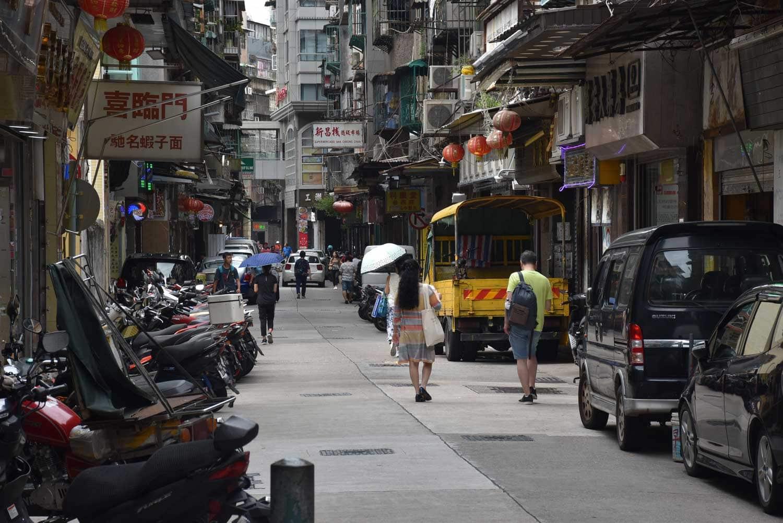 Rua de Cinco Outubro Macau
