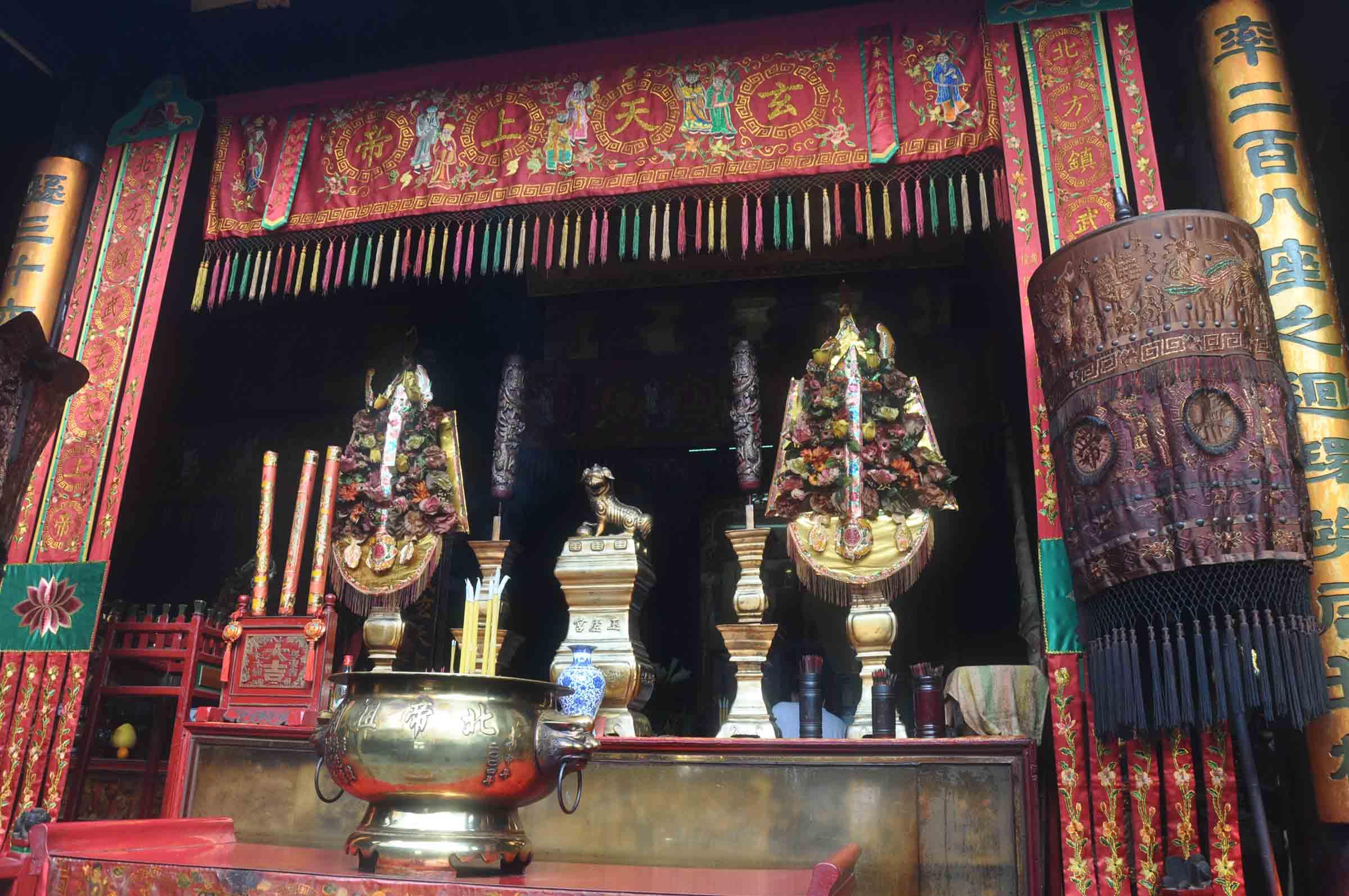 Pak Tai Temple altar