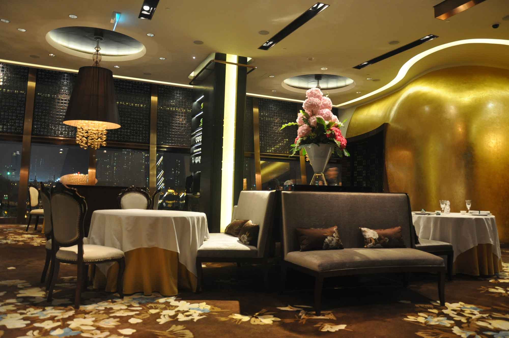 Jade Dragon Macau tables and chairs