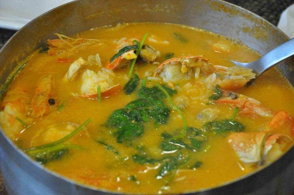 A Baia Macau seafood rice