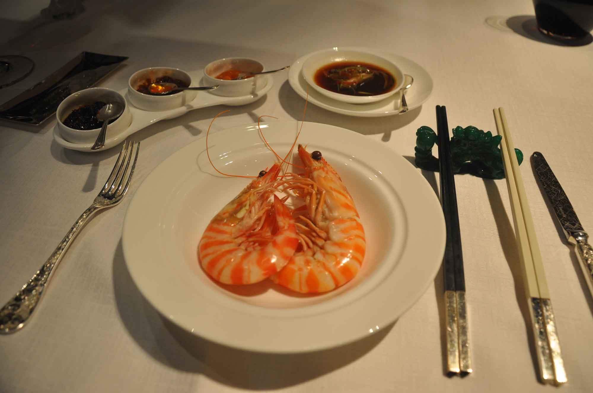 Jade Dragon Macau shrimp