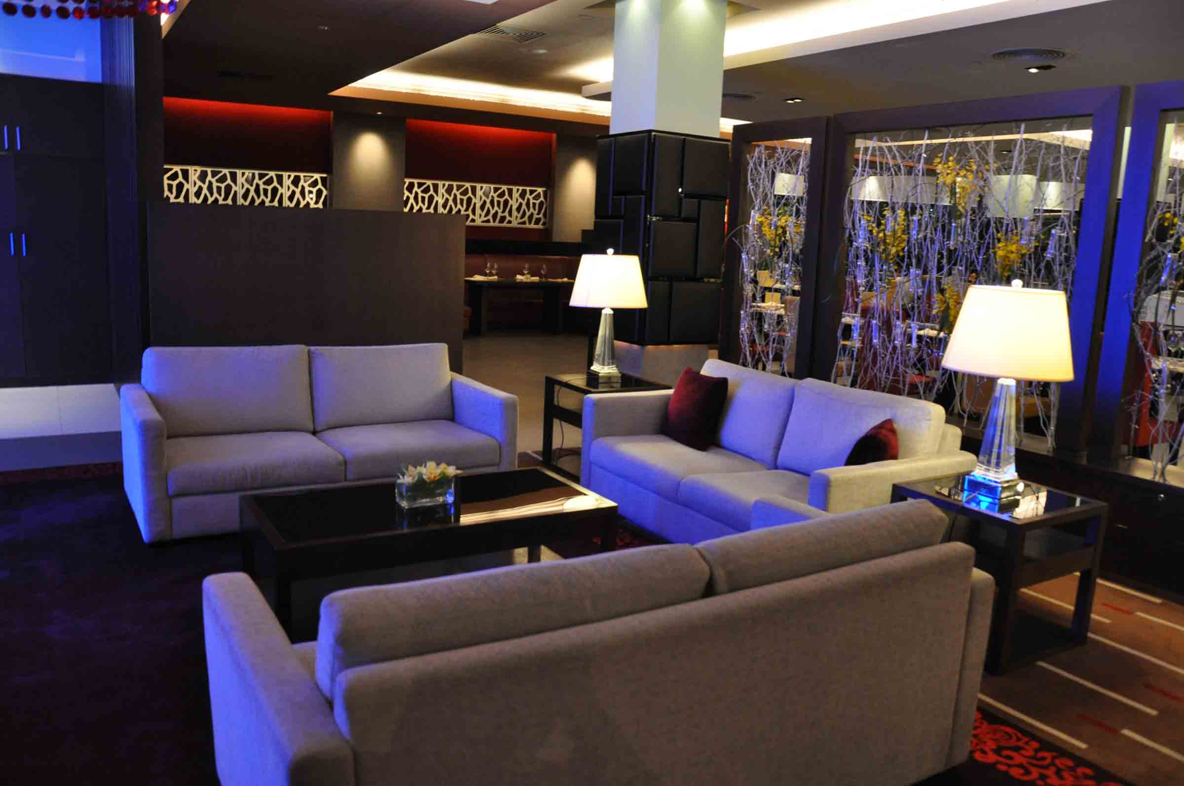 IFT Educational Restaurant lounge section