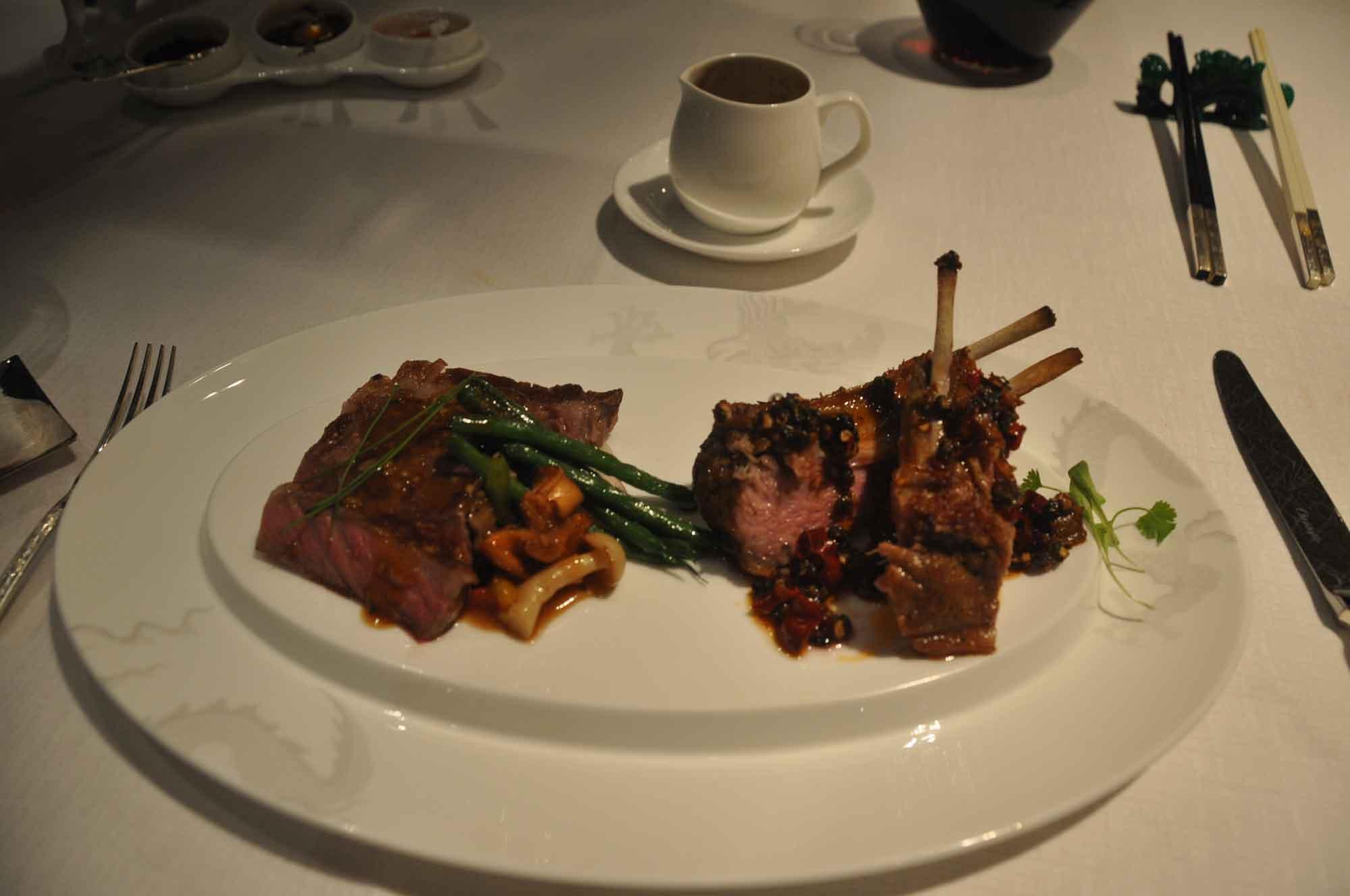 Jade Dragon Macau Australian wagyu beef