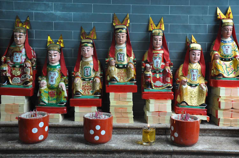 Pao Gong Temple Macau temple deities