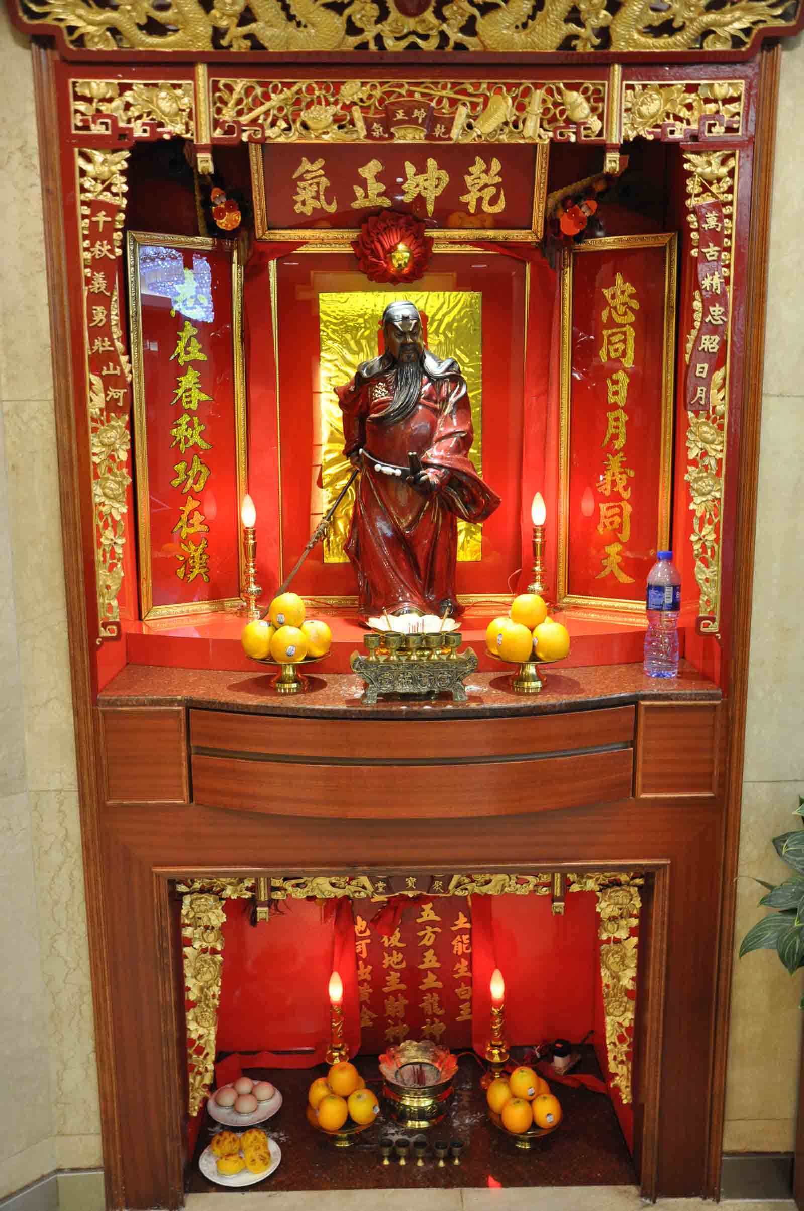 Campo De Dragon Macau Buddhist shrine