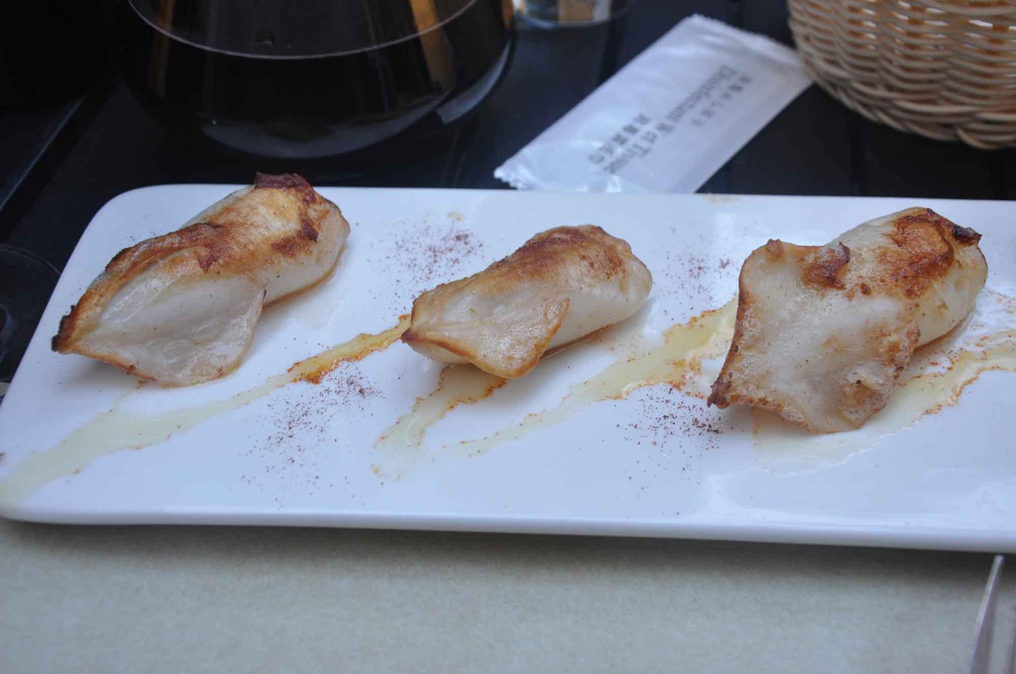 Albergue 1601 stuffed squid