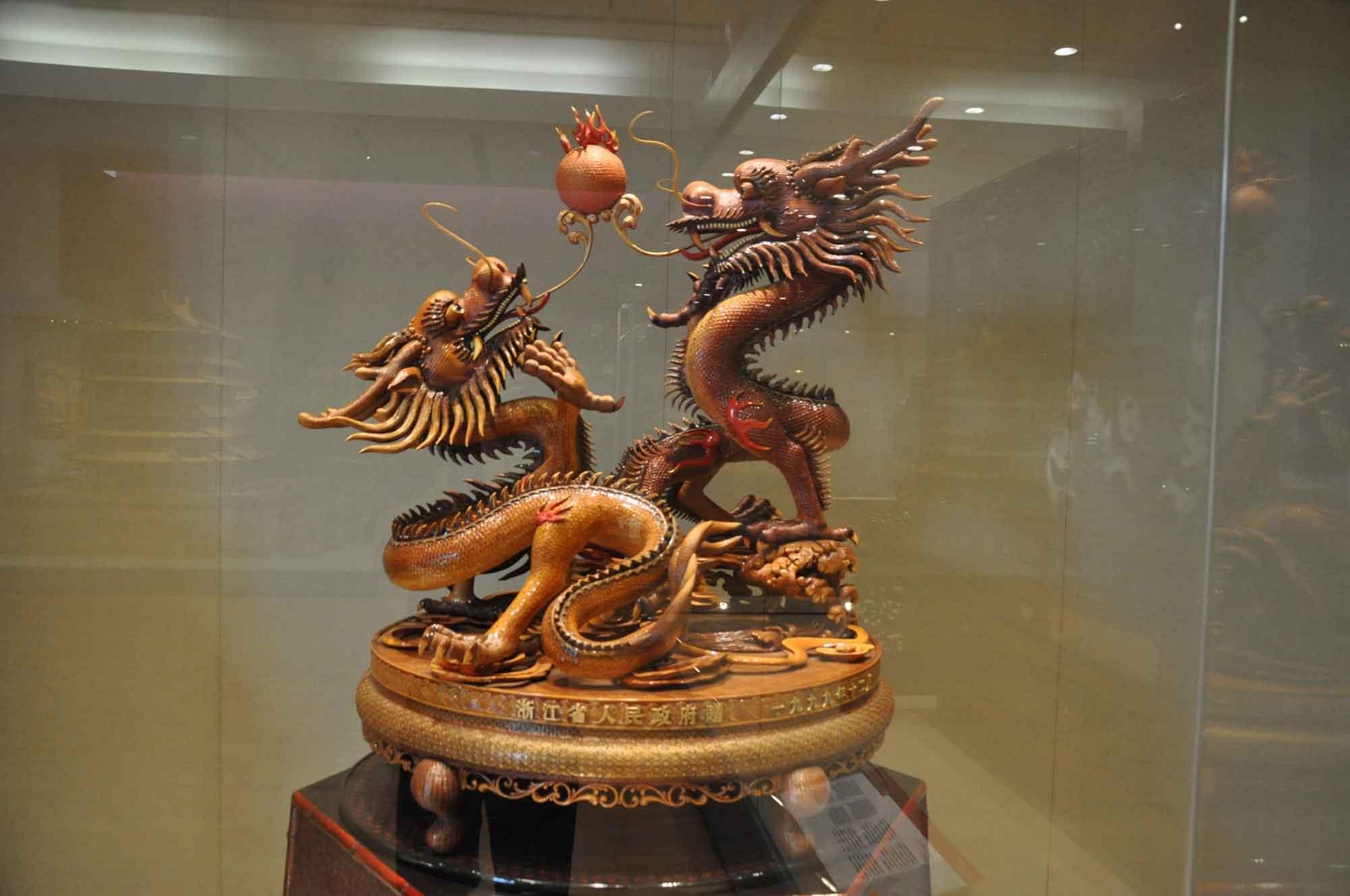 Handover Gifts Museum Macau Zhejiang province dragons