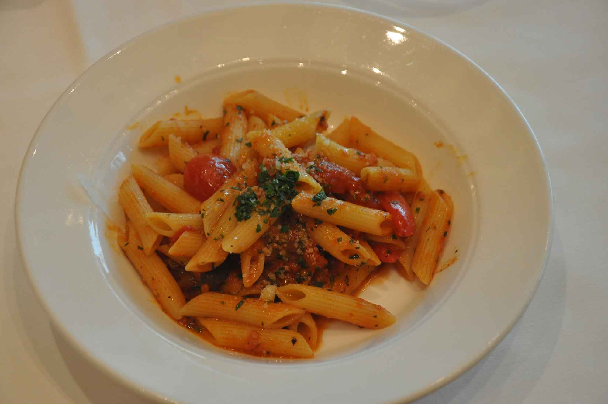 Portofino Macau plate of pasta