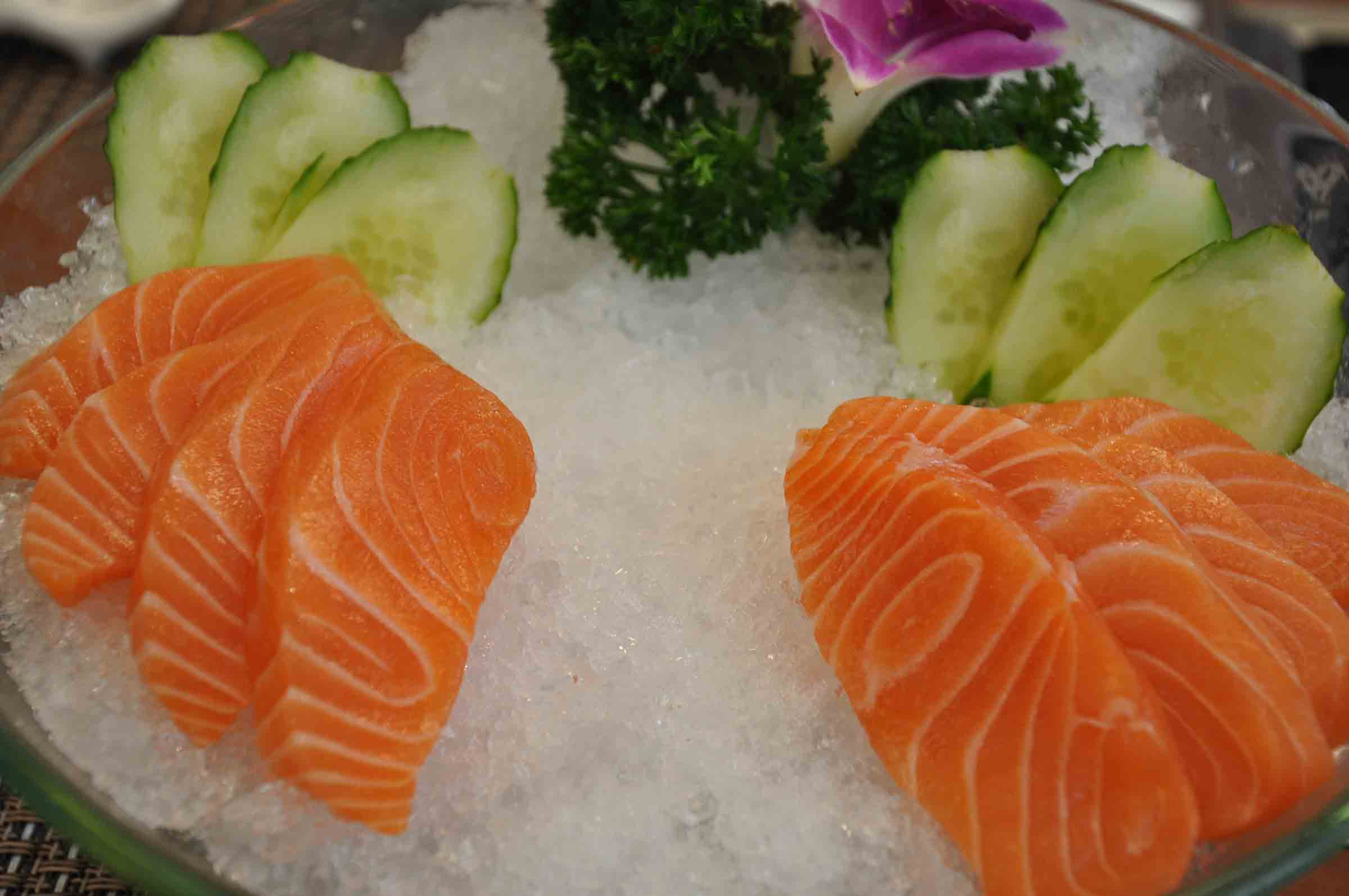 Campo De Dragon Macau fresh sashimi