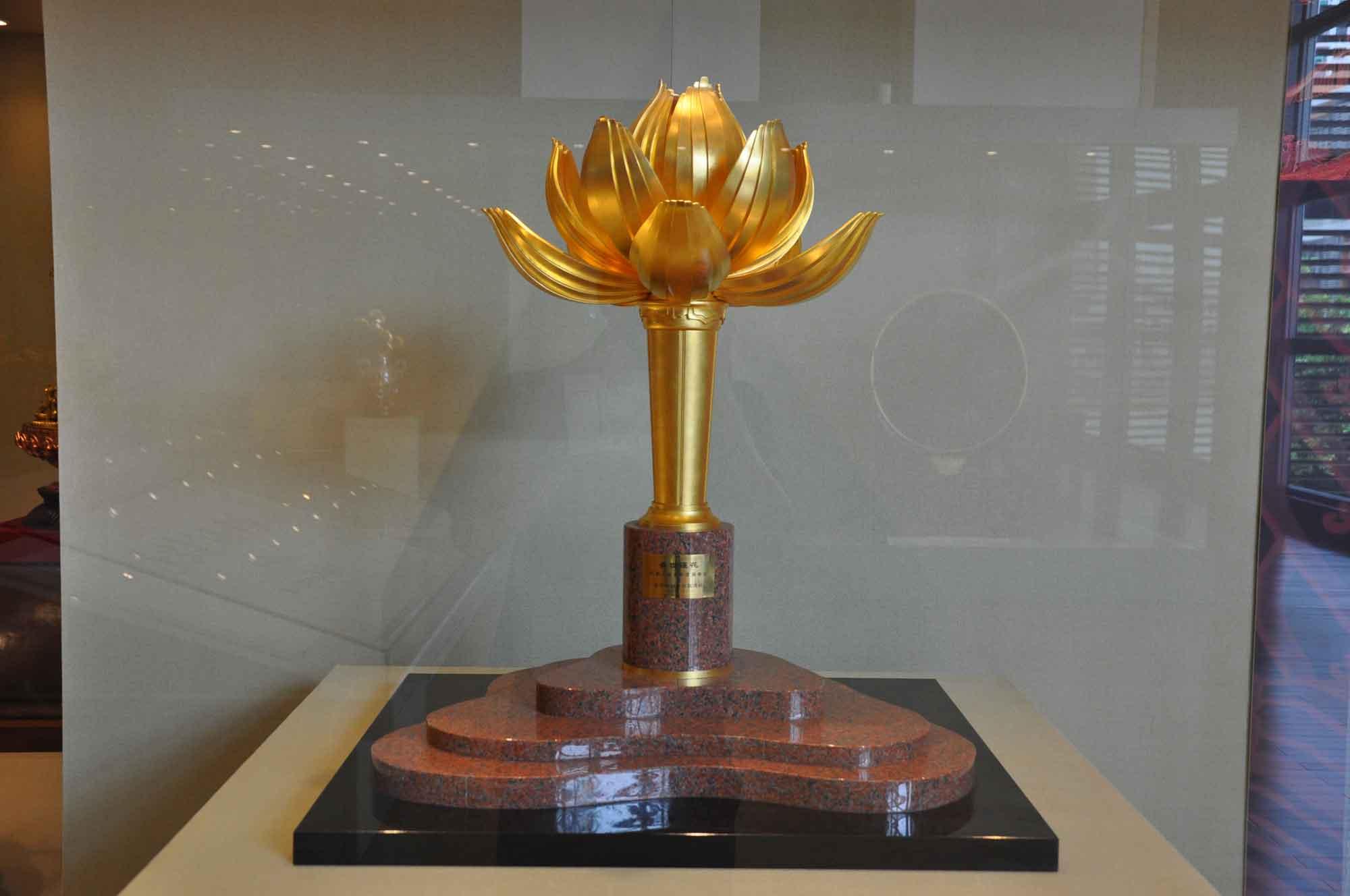 Handover Gifts Museum Macau lotus flower