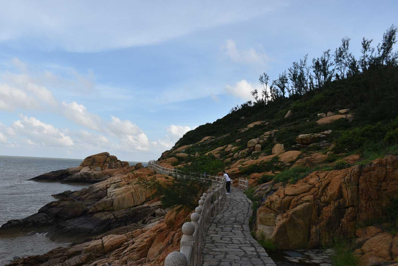 Hac Sa Long Chao Kok Coastal Trail path