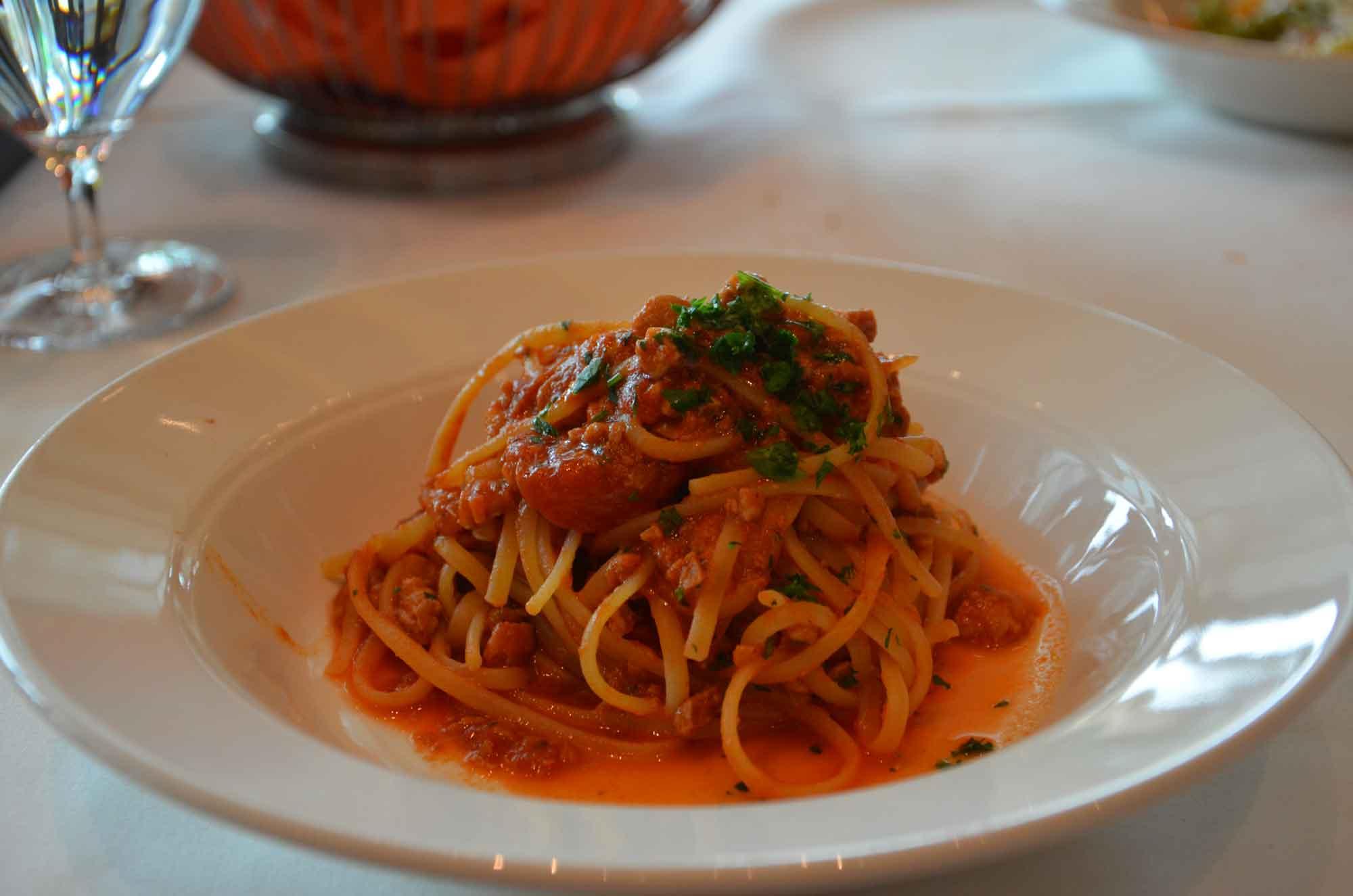 Portofino Macau spaghetti