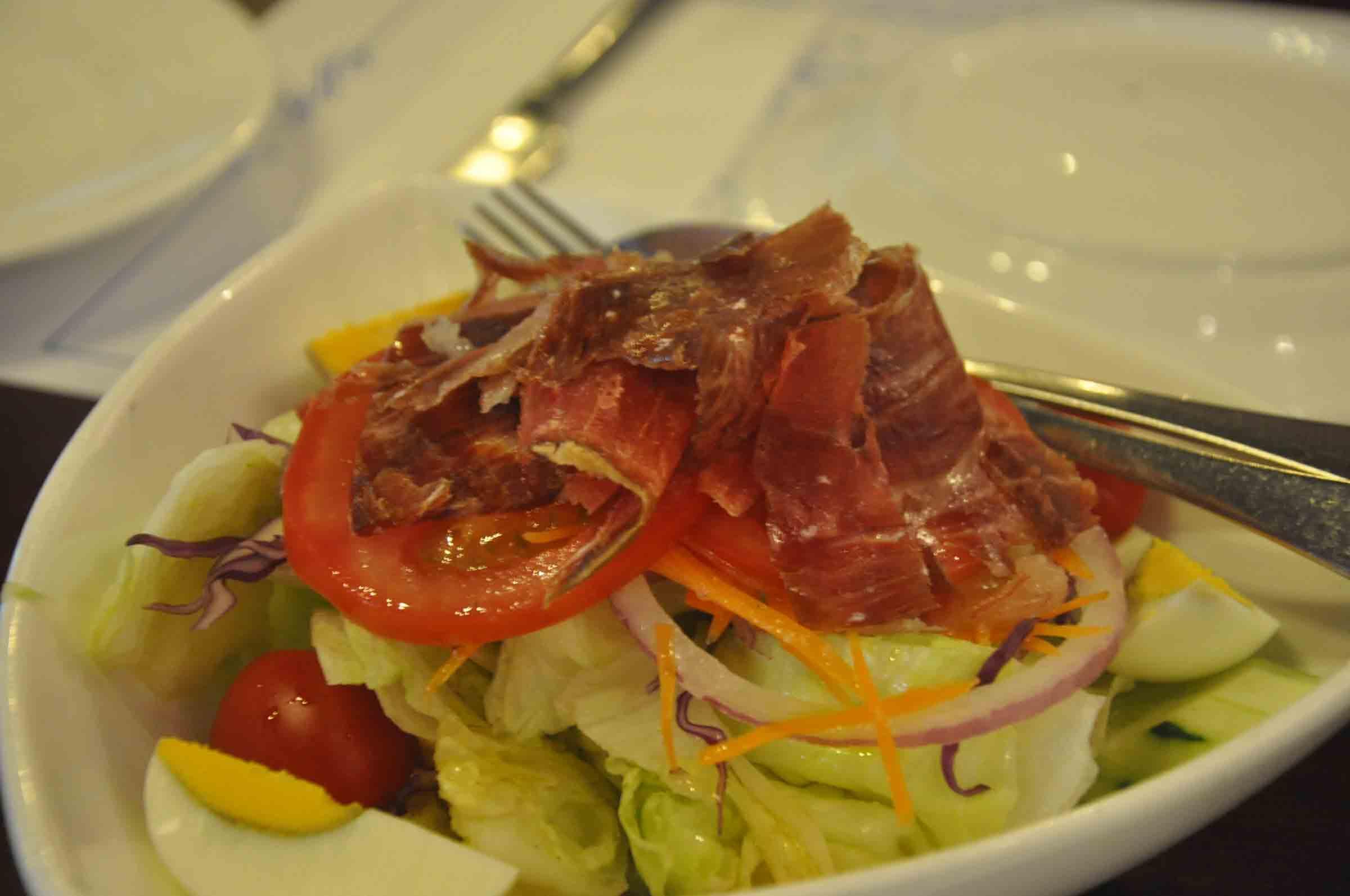 Don Quijote Macau Iberian salad