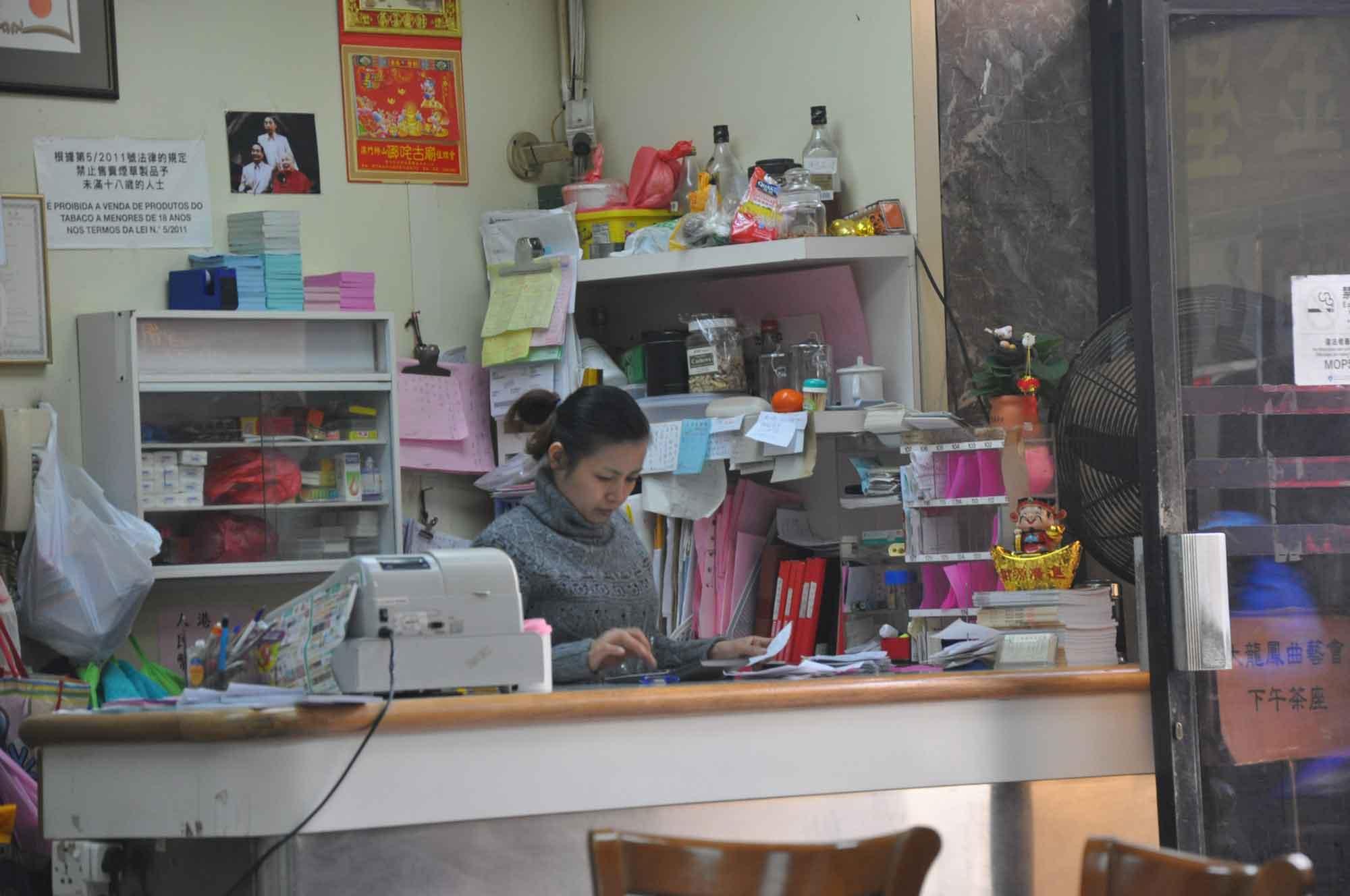 Tai Long Fong pay counter
