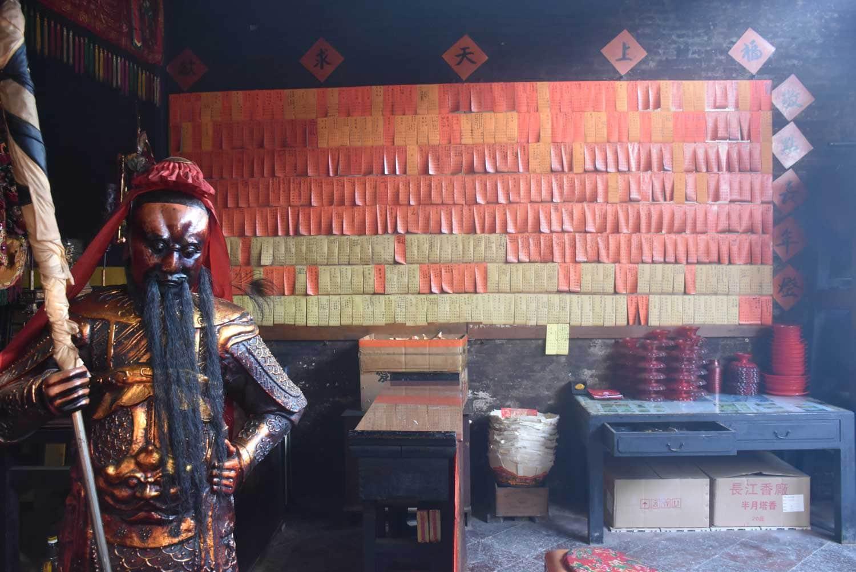 Taipa Village Temples: Pak Tai Temple idol