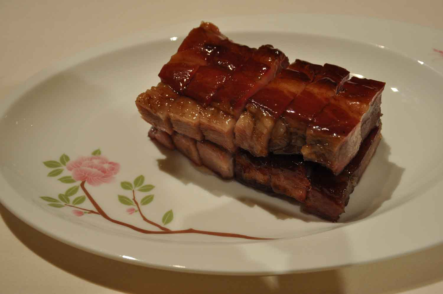 Macau Michelin Restaurants: Barbecue Pork with Honey