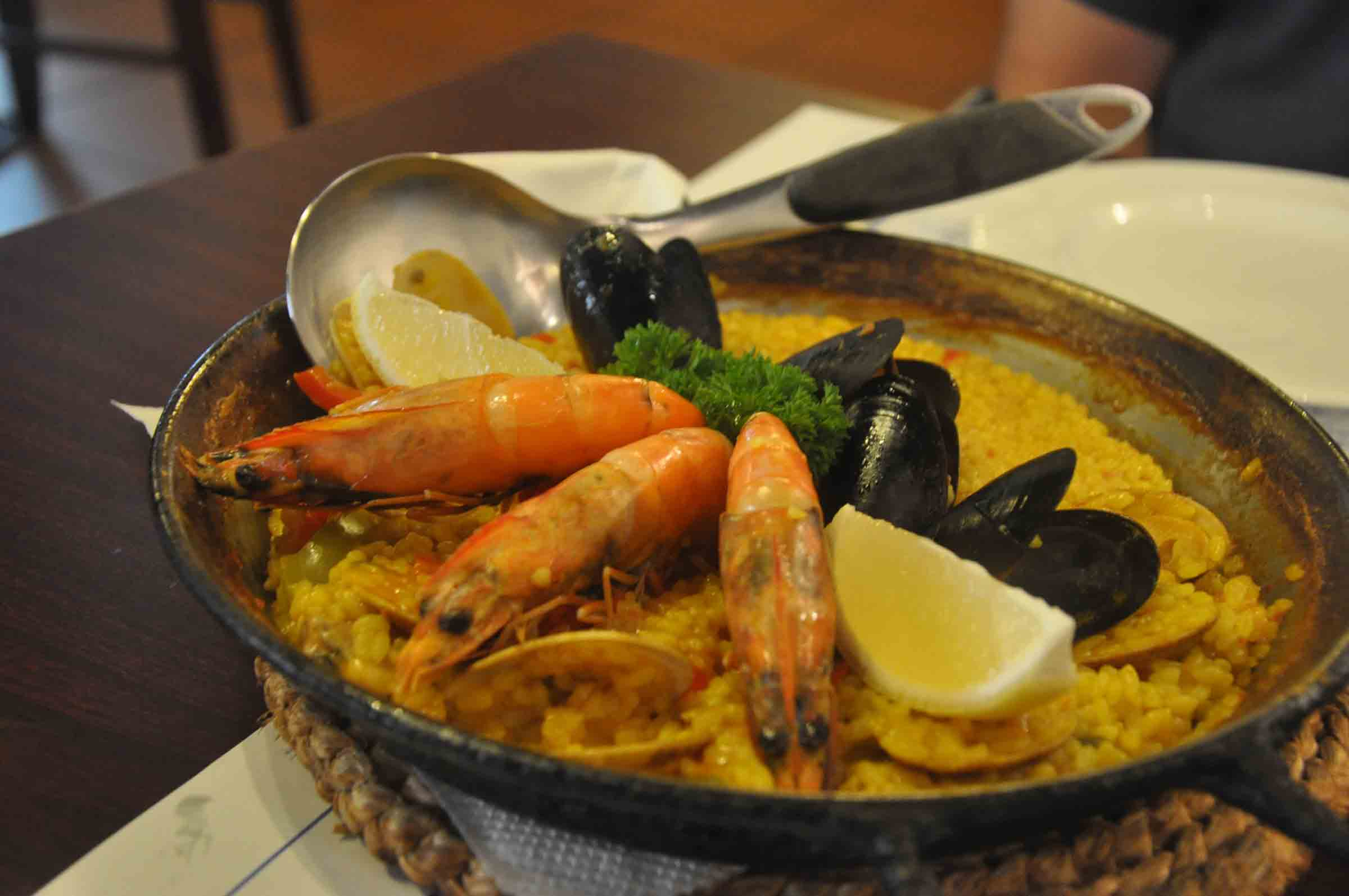Don Quijote Macau seafood rice