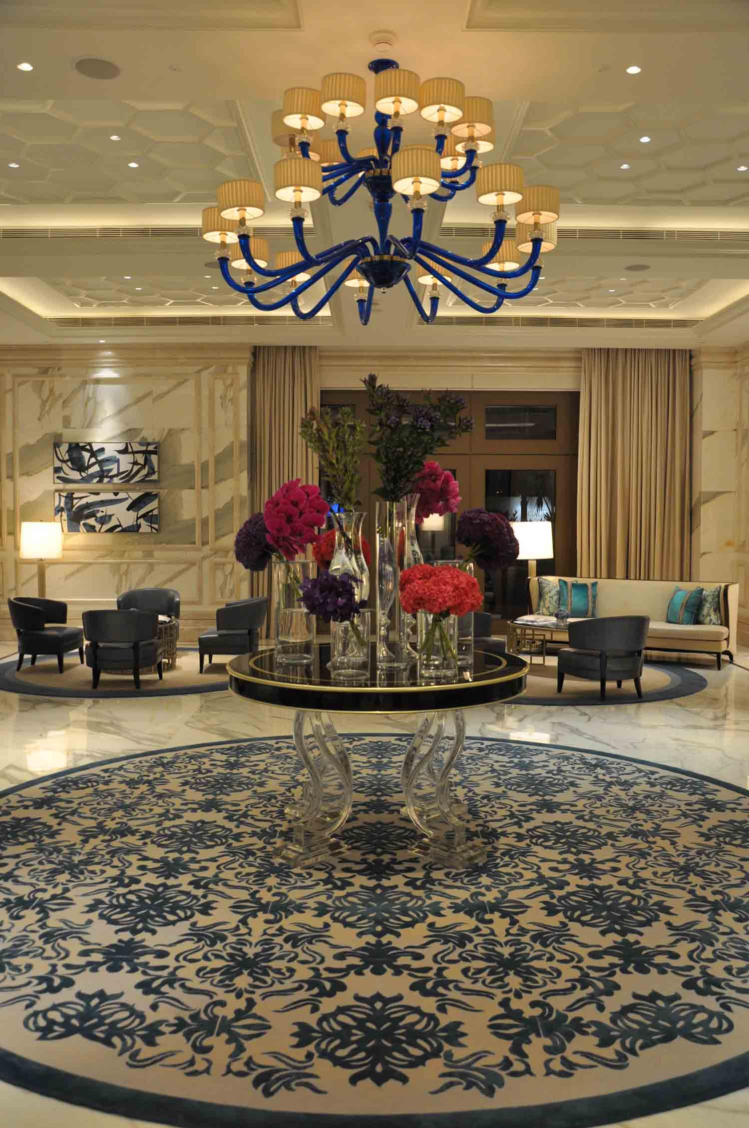 Ritz-Carlton Macau first floor lounge