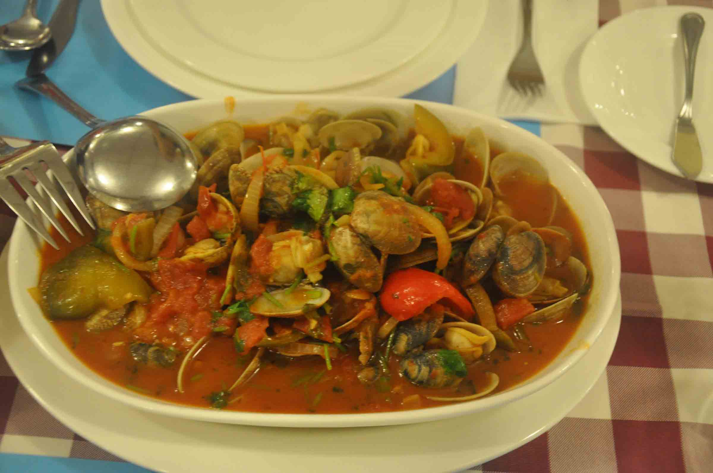 Miramar Macau Spanish clams