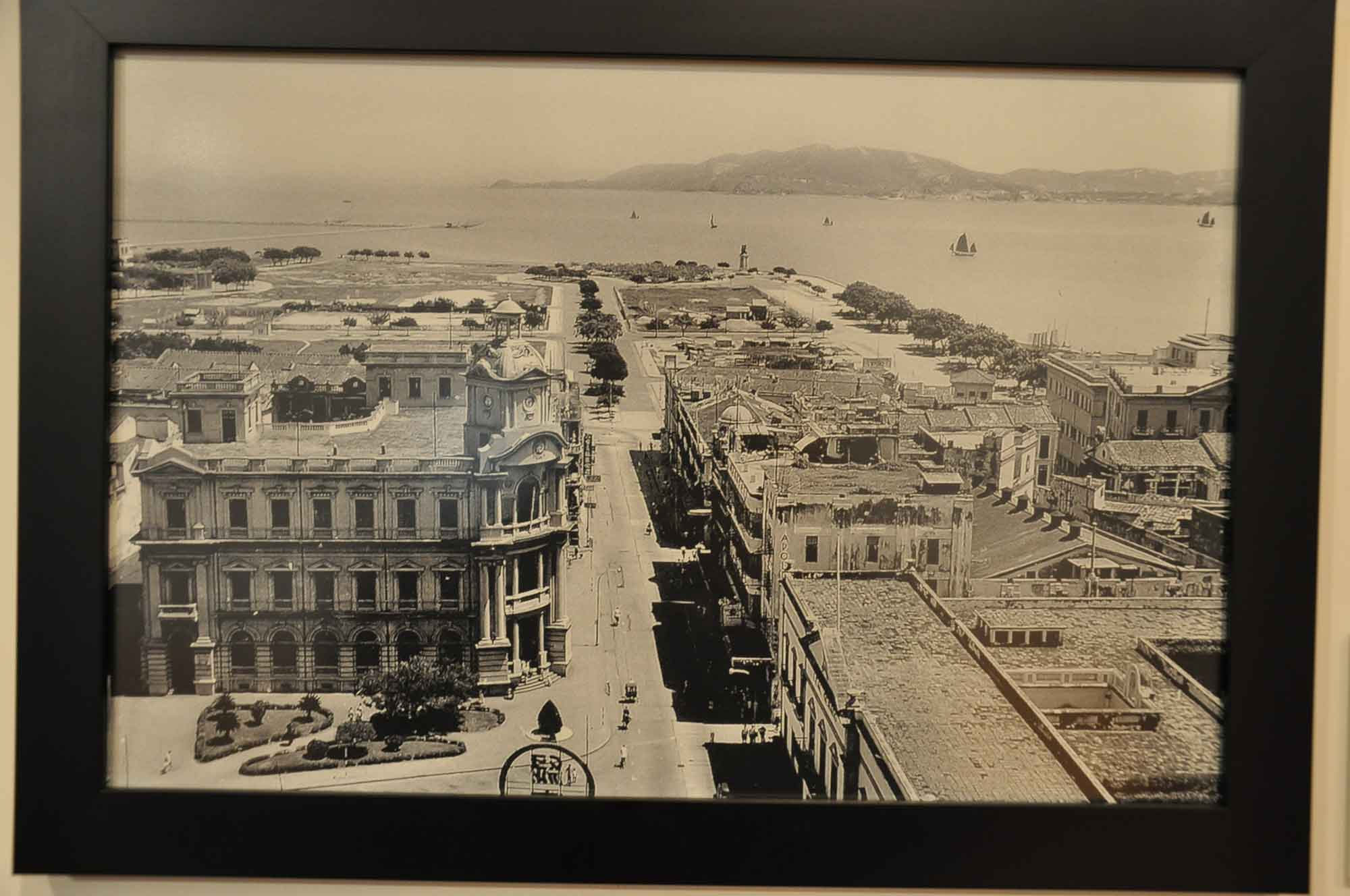 Old Macau before the Lisboa