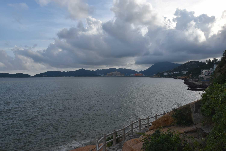 Hac Sa Long Chao Kok Coastal Trail view to Cheoc Van Beach