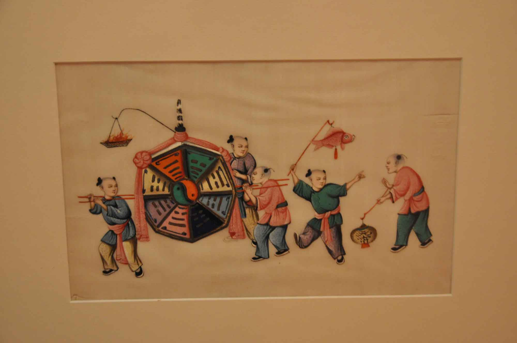Macau Museum of Art: Fish vendors