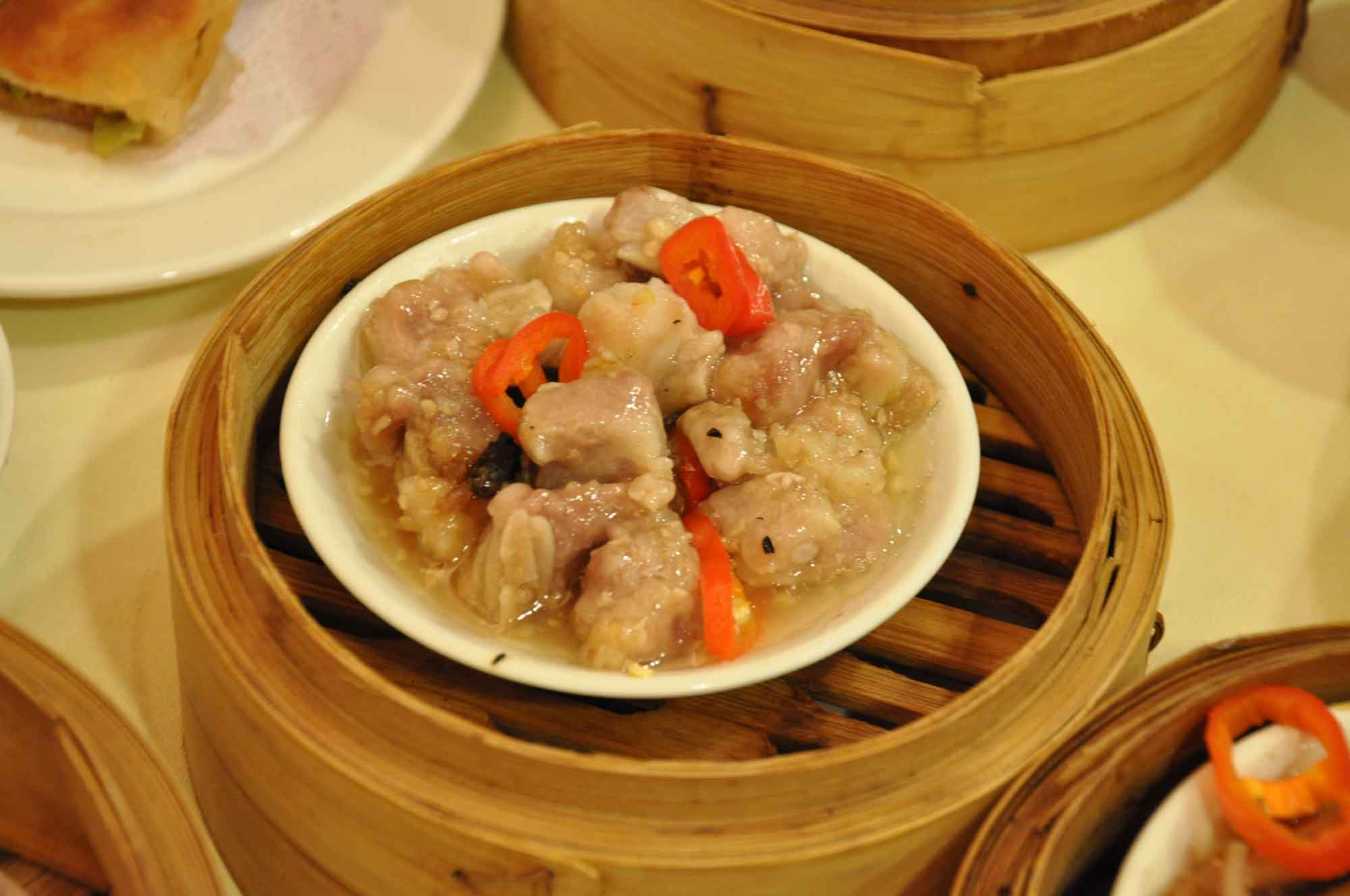 Royal Orchid Chinese Restaurant steamed pork ribs