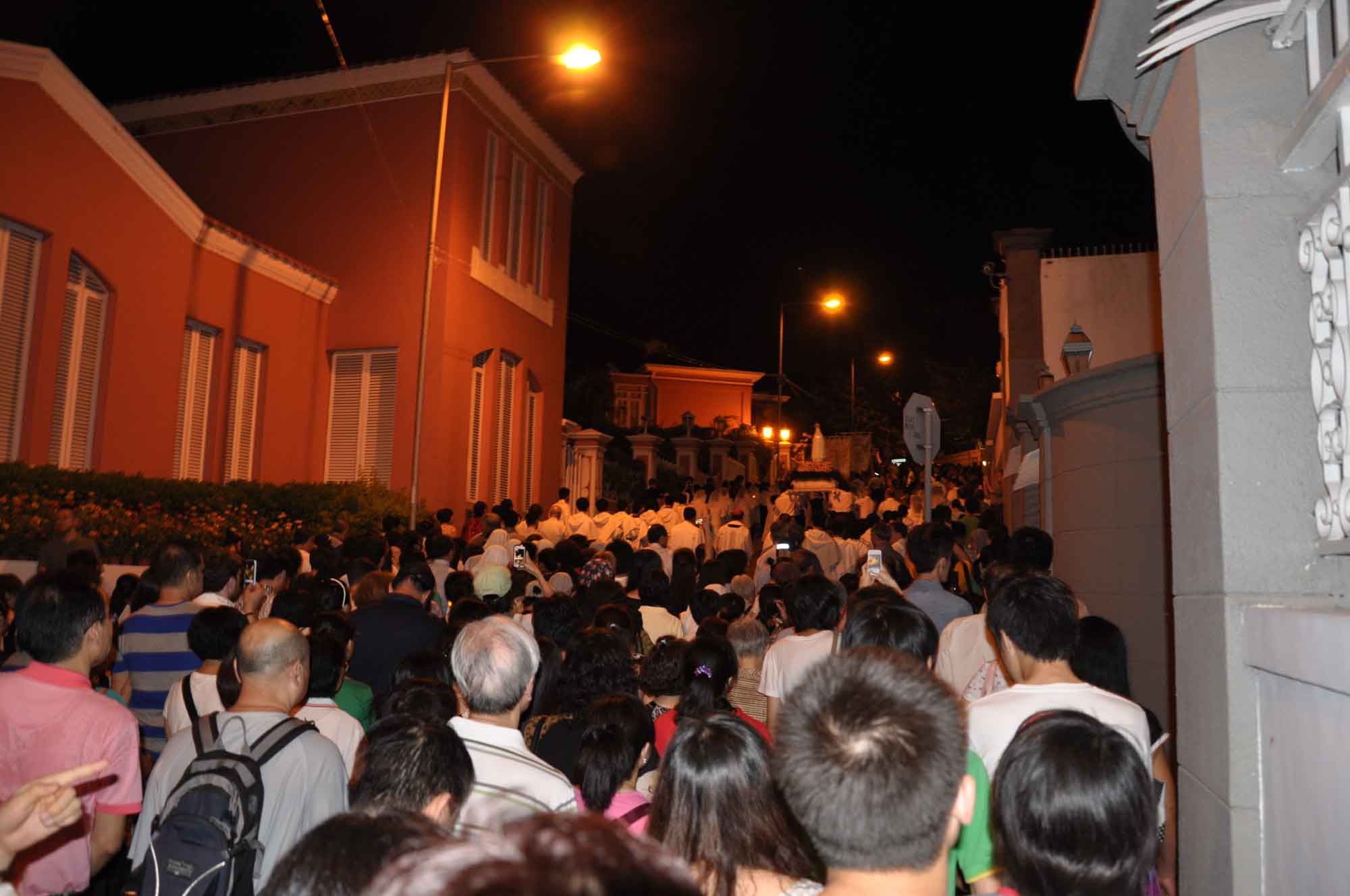 Macau's Our Lady of Fatima Procession on Penha Hill