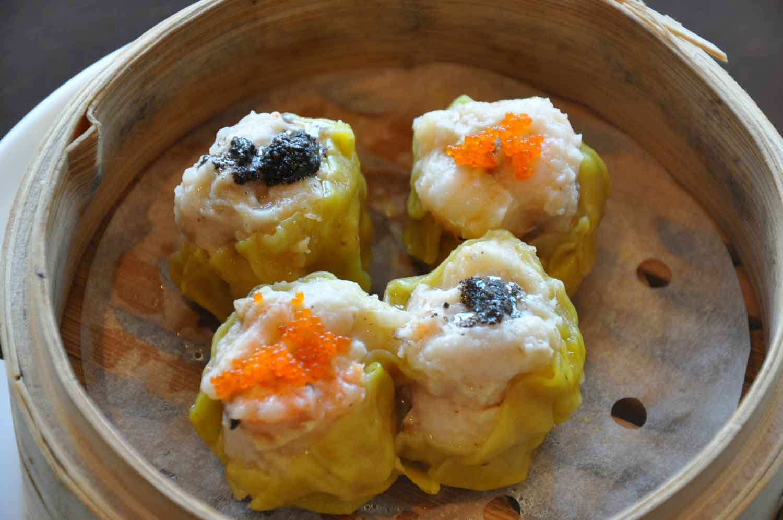 La Chine Macau Siu Mai Pork Dumplings with Black Truffle