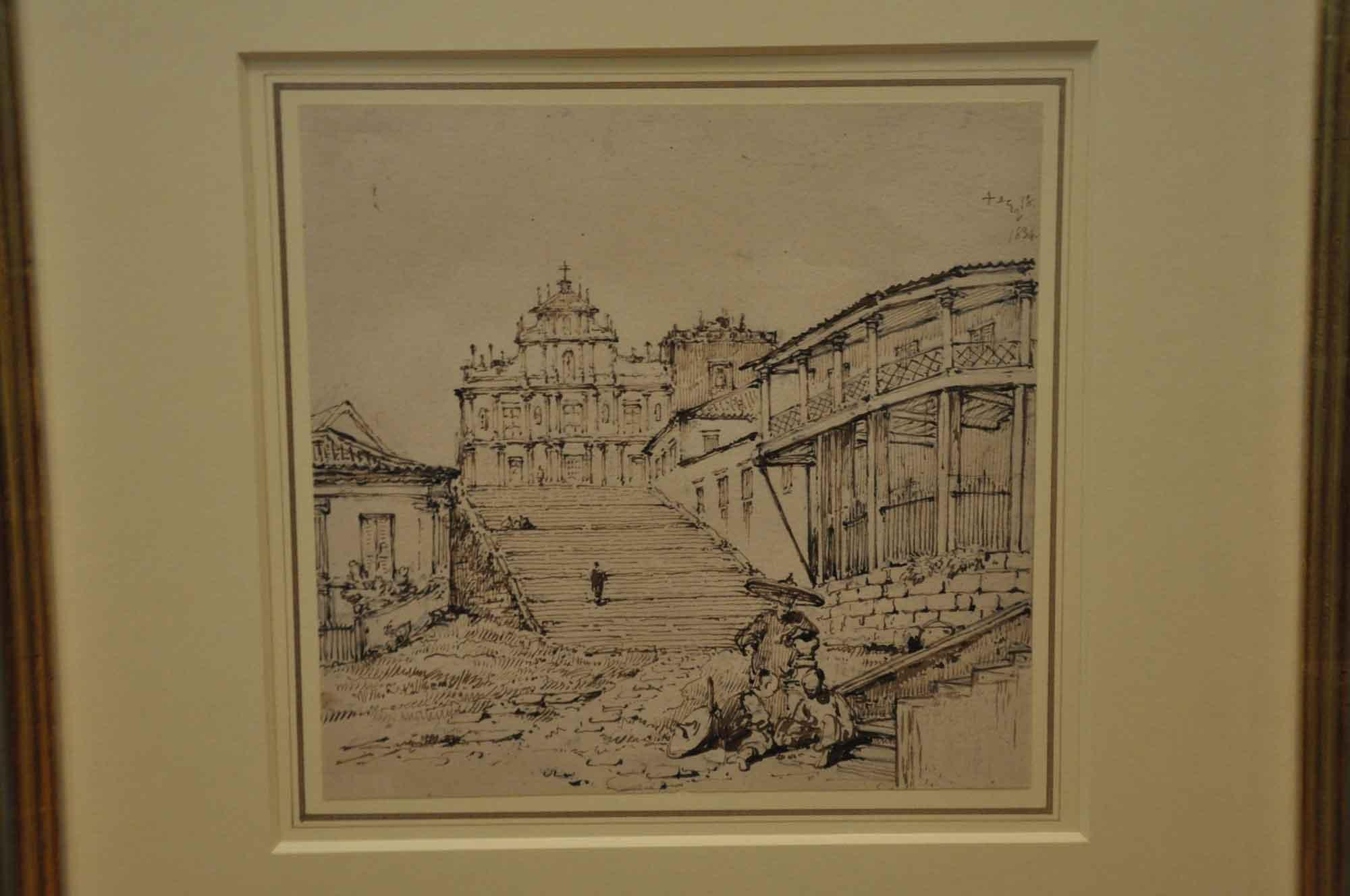 George Chinnery St Paul's Macau
