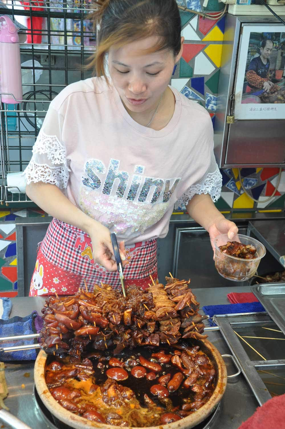 Macau Street Food: Pig Knuckles with Ginger pretty seller