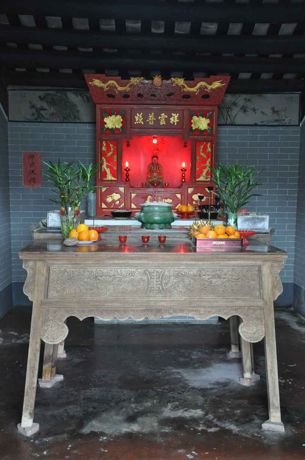 Kun Iam Temple inside