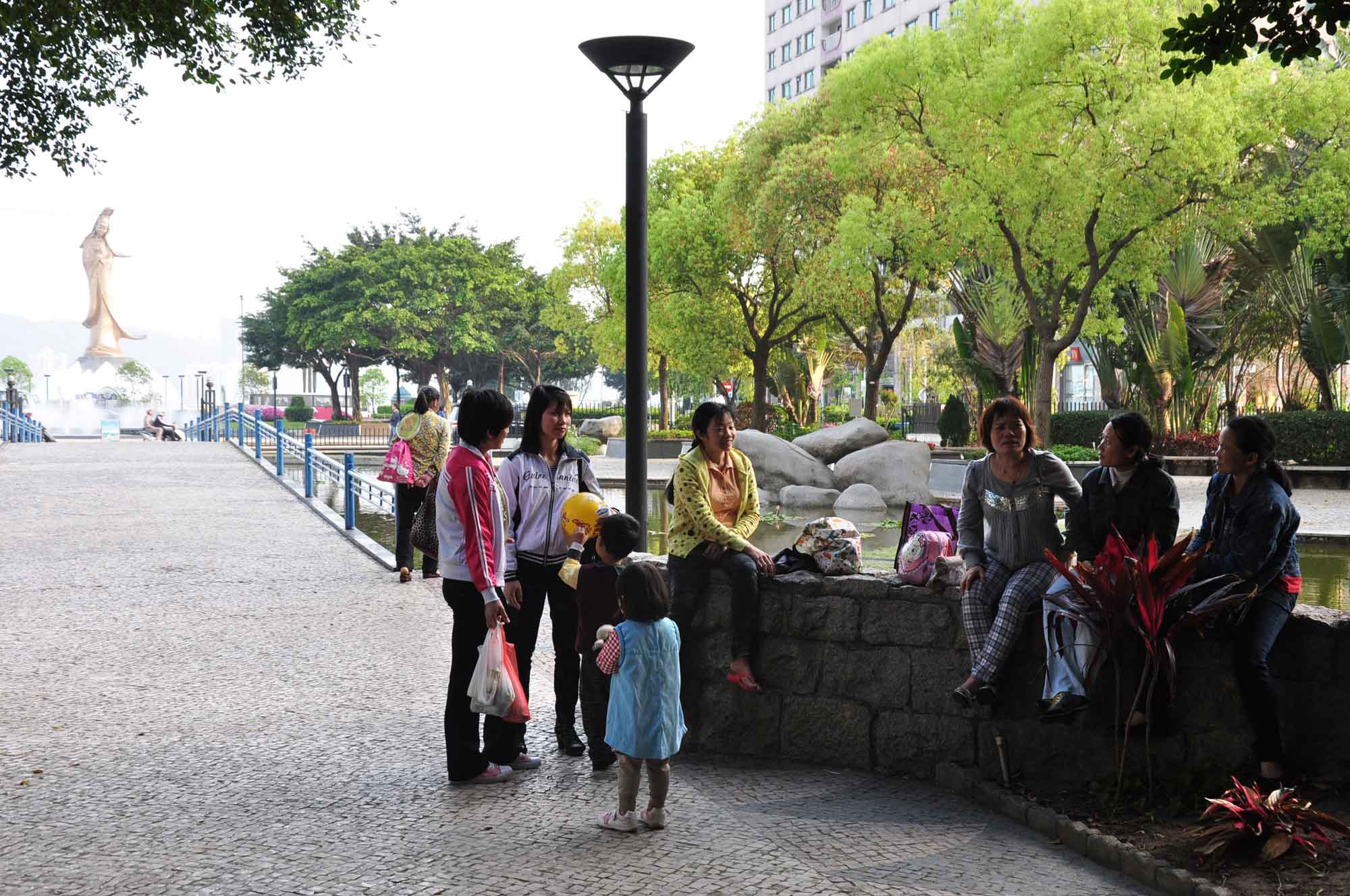 Dr Carlos Assumpacao Park Macau