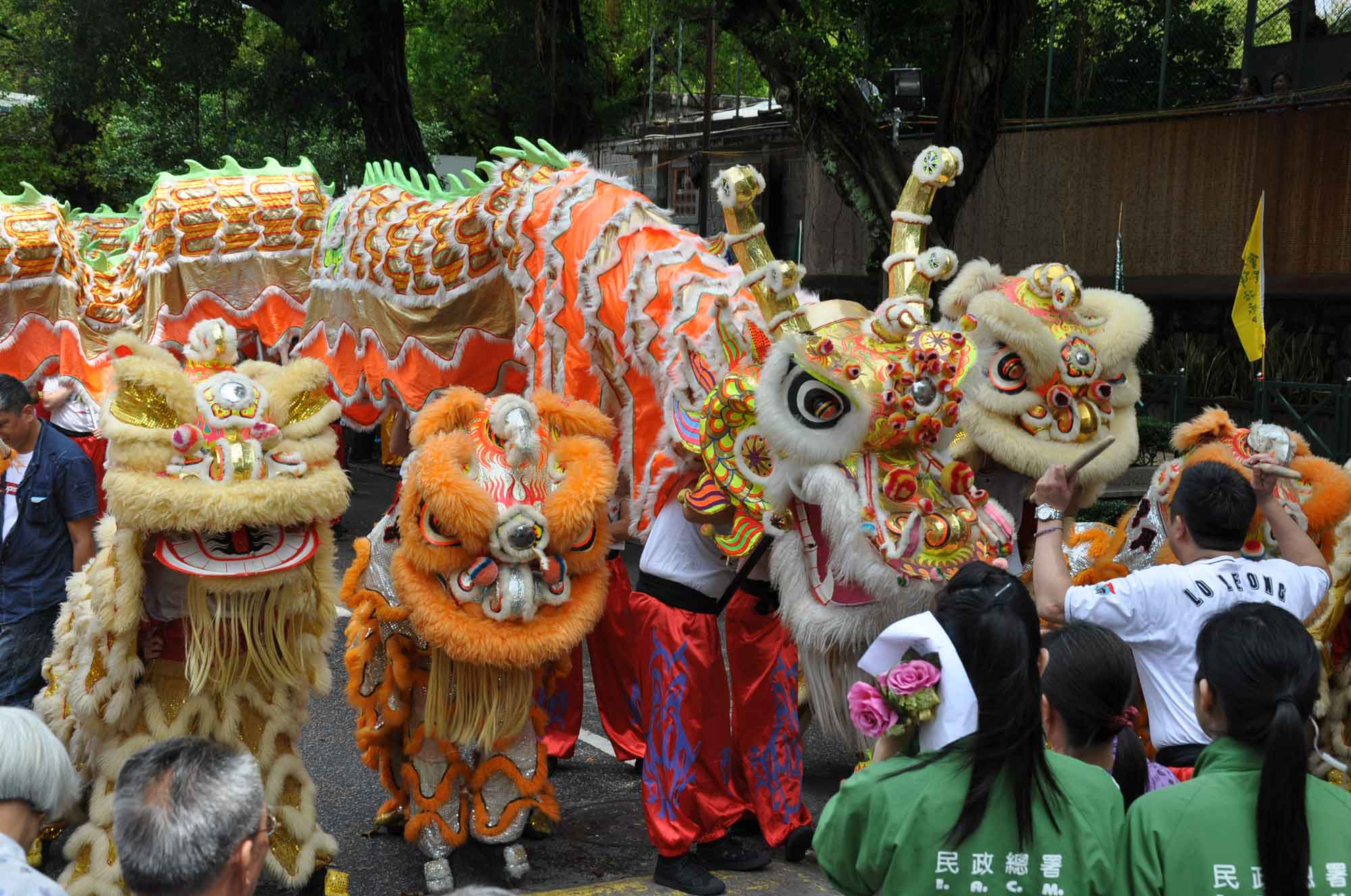 Tam Kong Festival 2012 traditional Chinese dragons