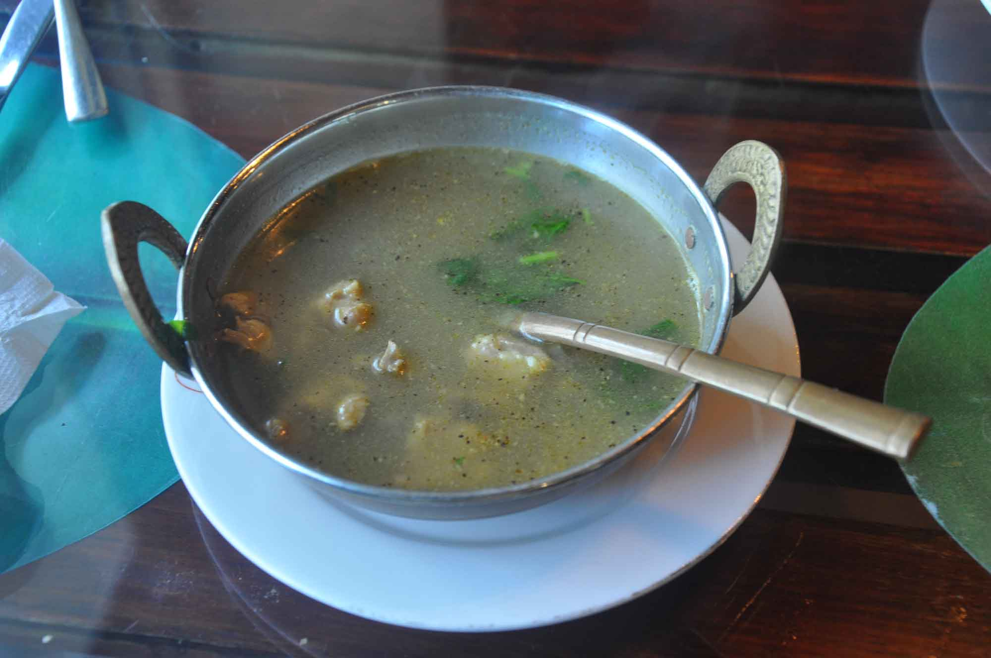 Indian Garden Macau chicken soup