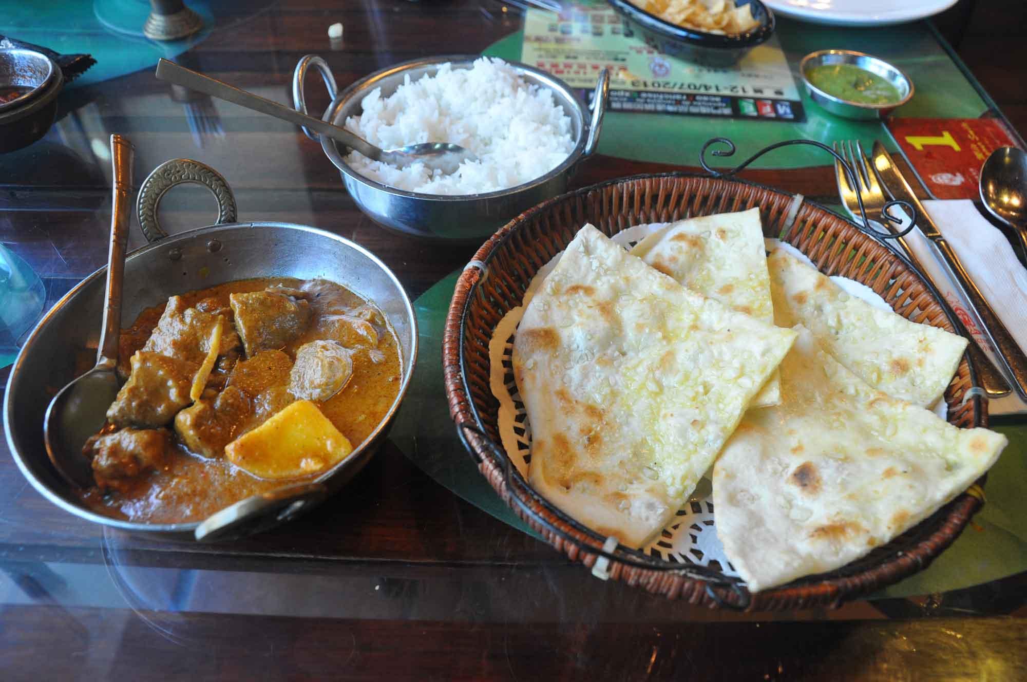 Indian Garden Macau Lamb Curry