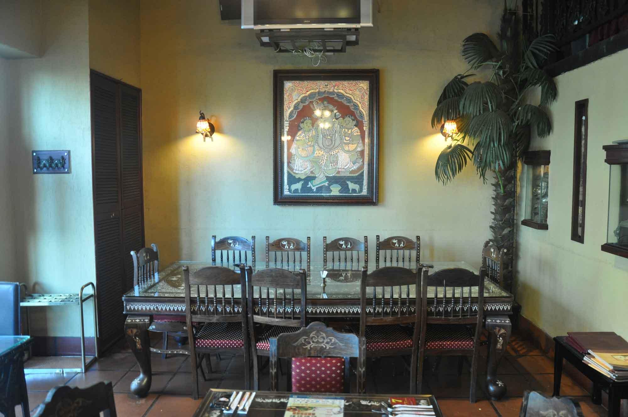 Indian Garden Macau interior