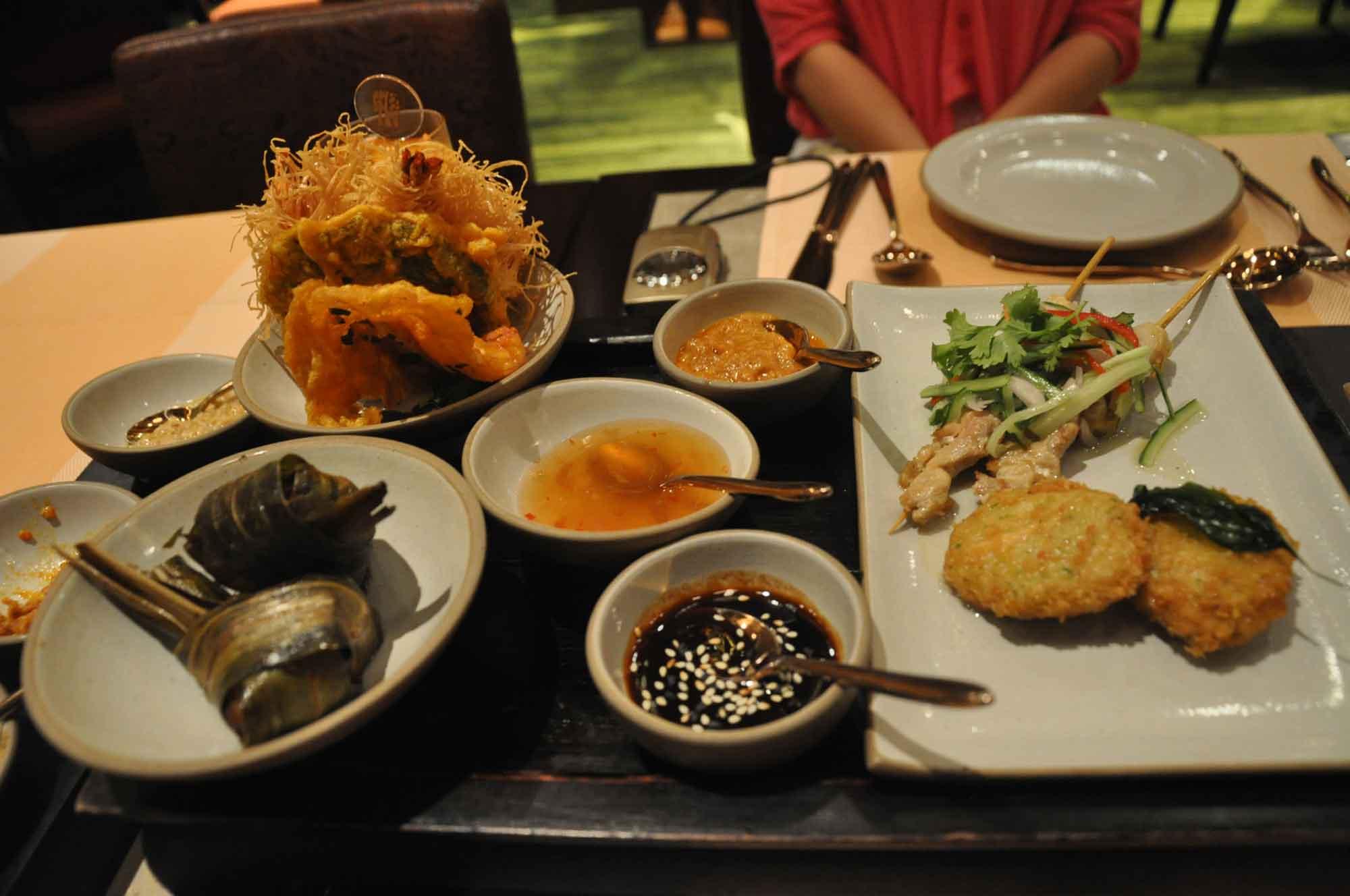Saffron Macau Khong Wang Ruam Appetizers