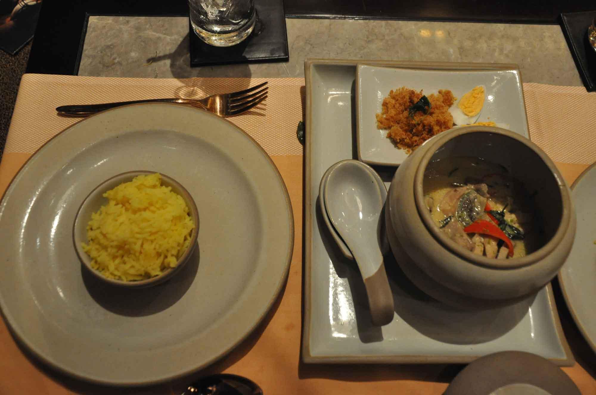 Saffron Macau chicken curry