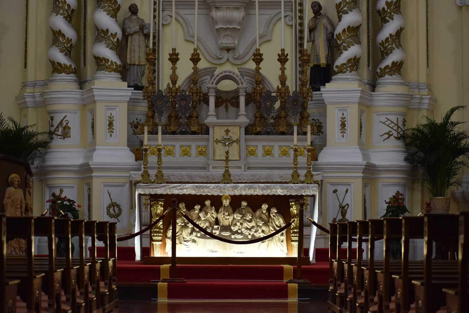 St. Josephs Church altar