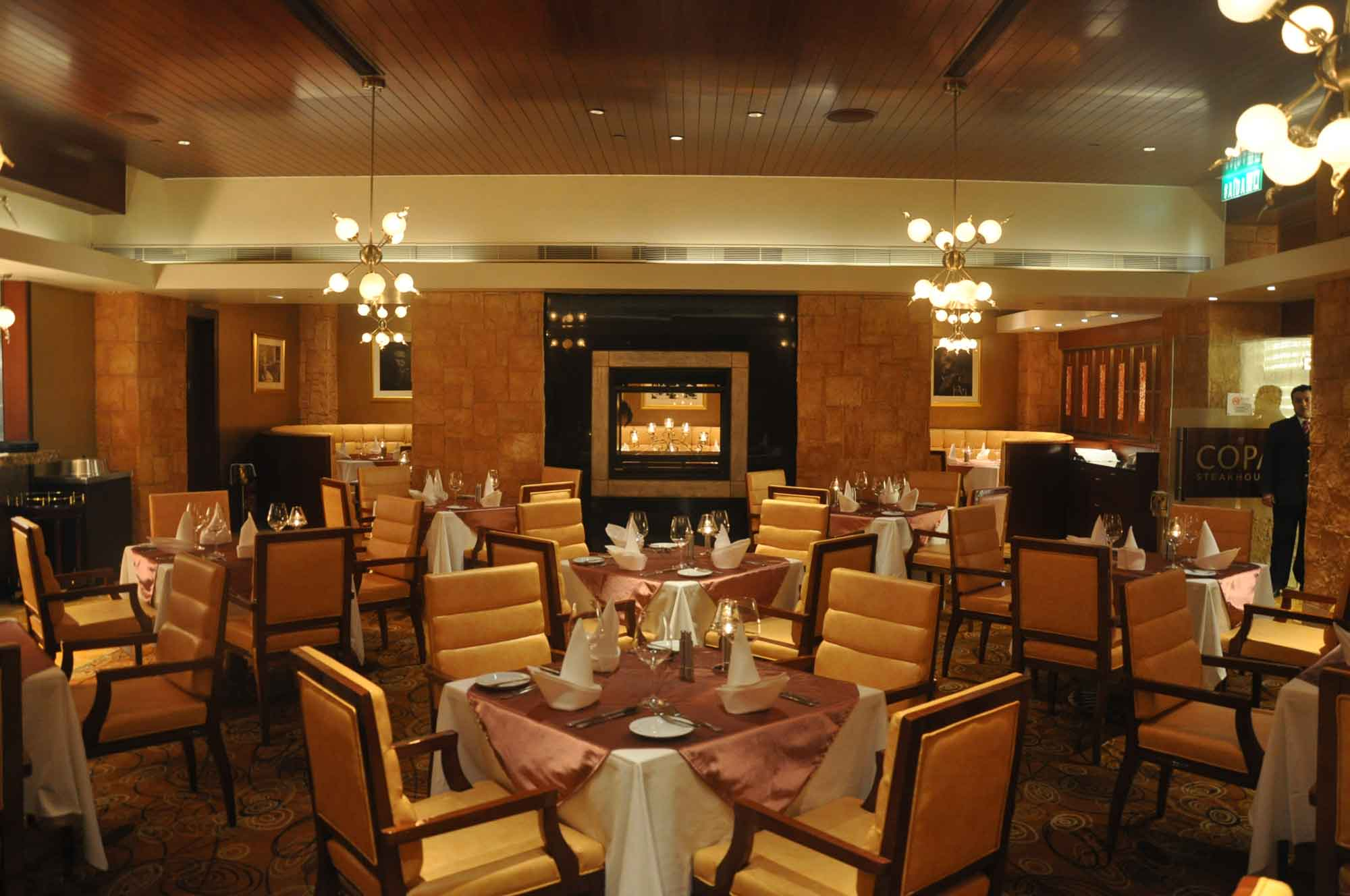 Copa Steakhouse indoor seating