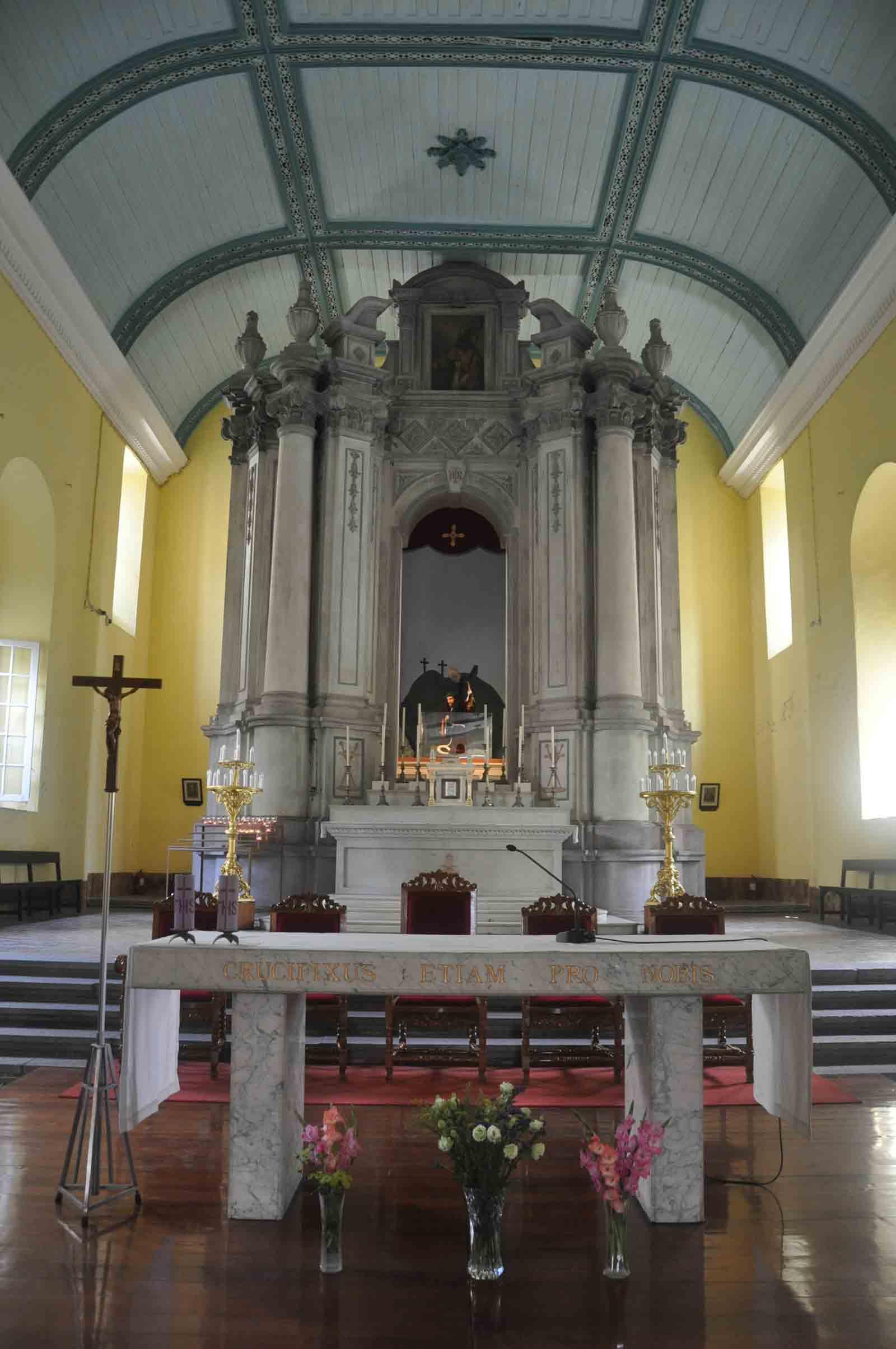 St. Augustine Church Macau altar