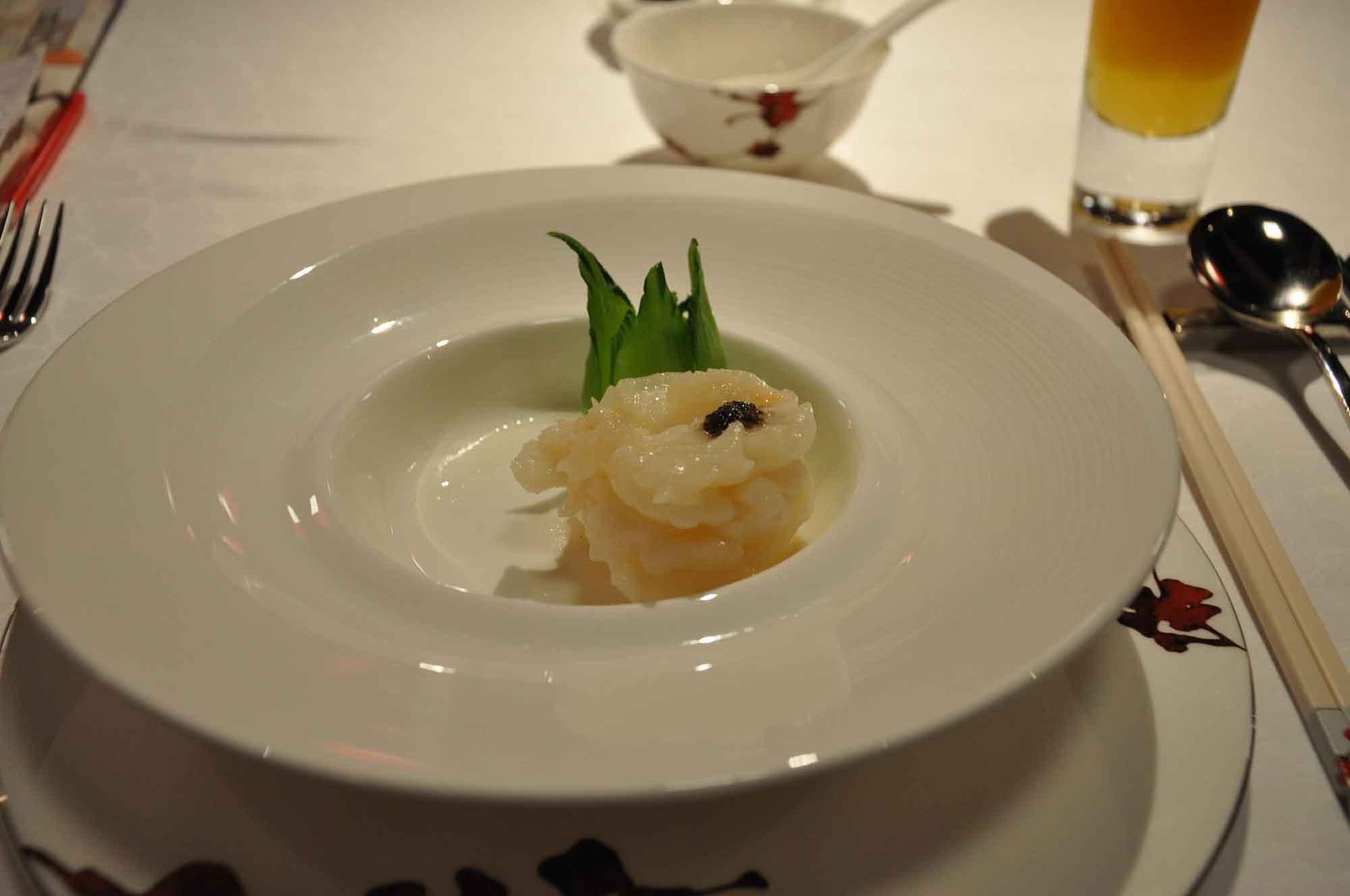 Dynasty 8 wok prawn caviar