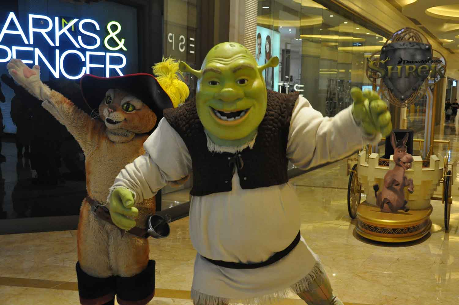 Shrek at Sands Cotai Central