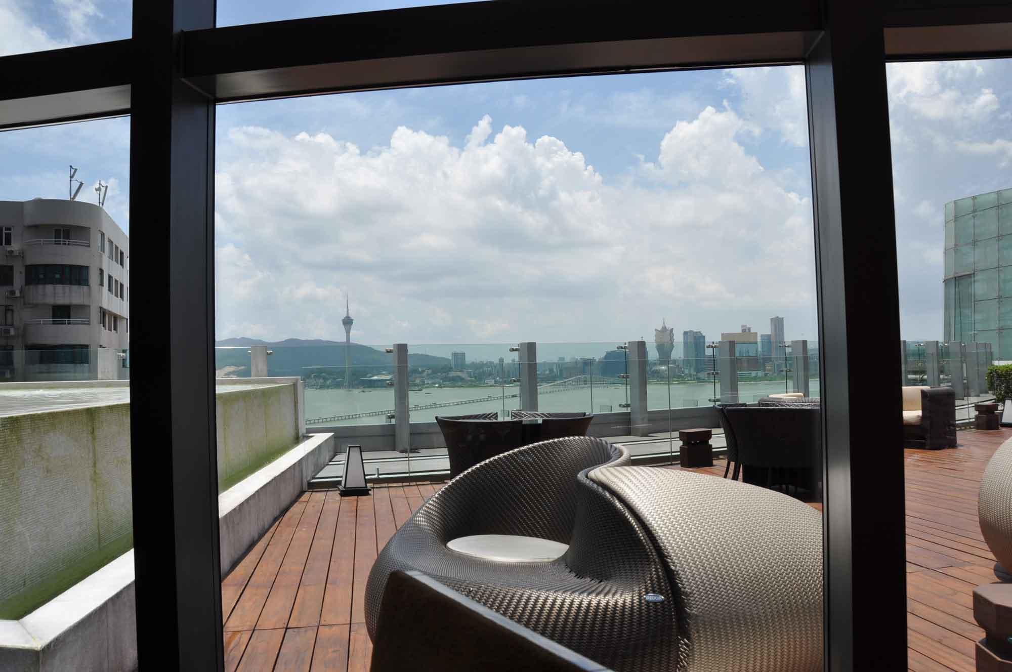 Aurora Macau outdoor seating