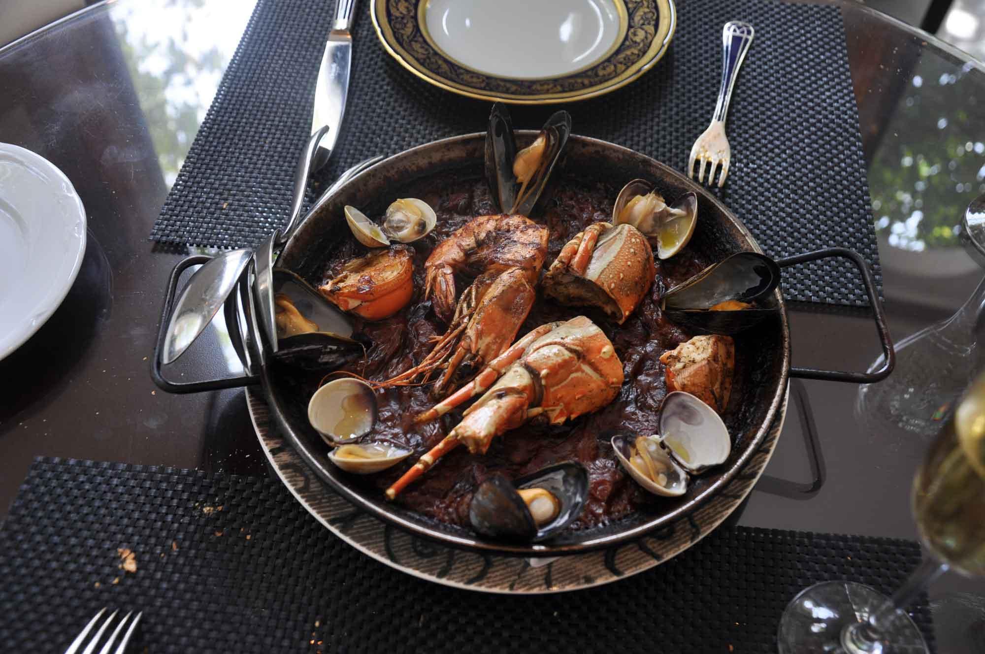 La Paloma Macau lobster rice